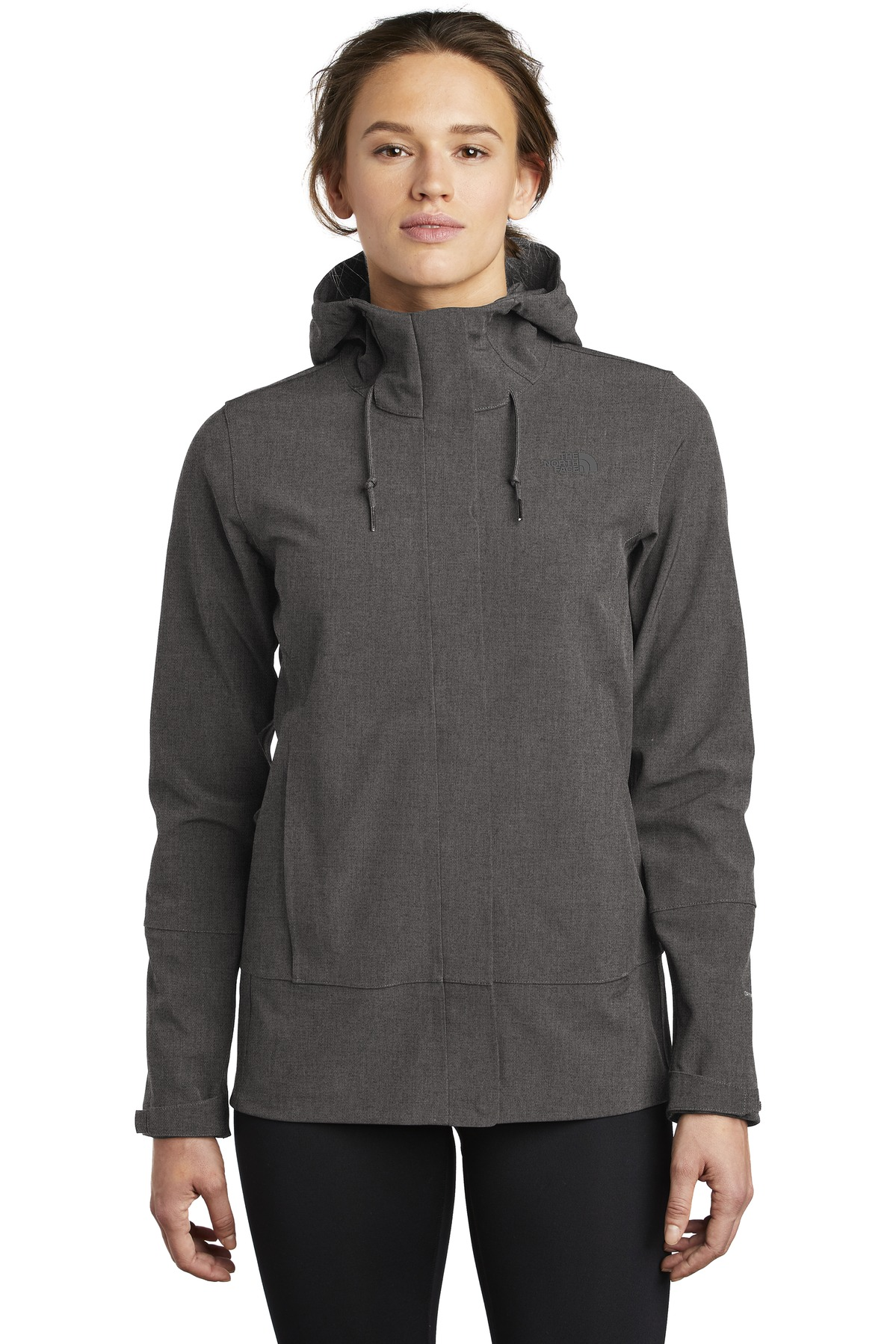 The North Face  ®  Ladies Apex DryVent  ™  Jacket NF0A47FJ - TNF Dark Grey Heather