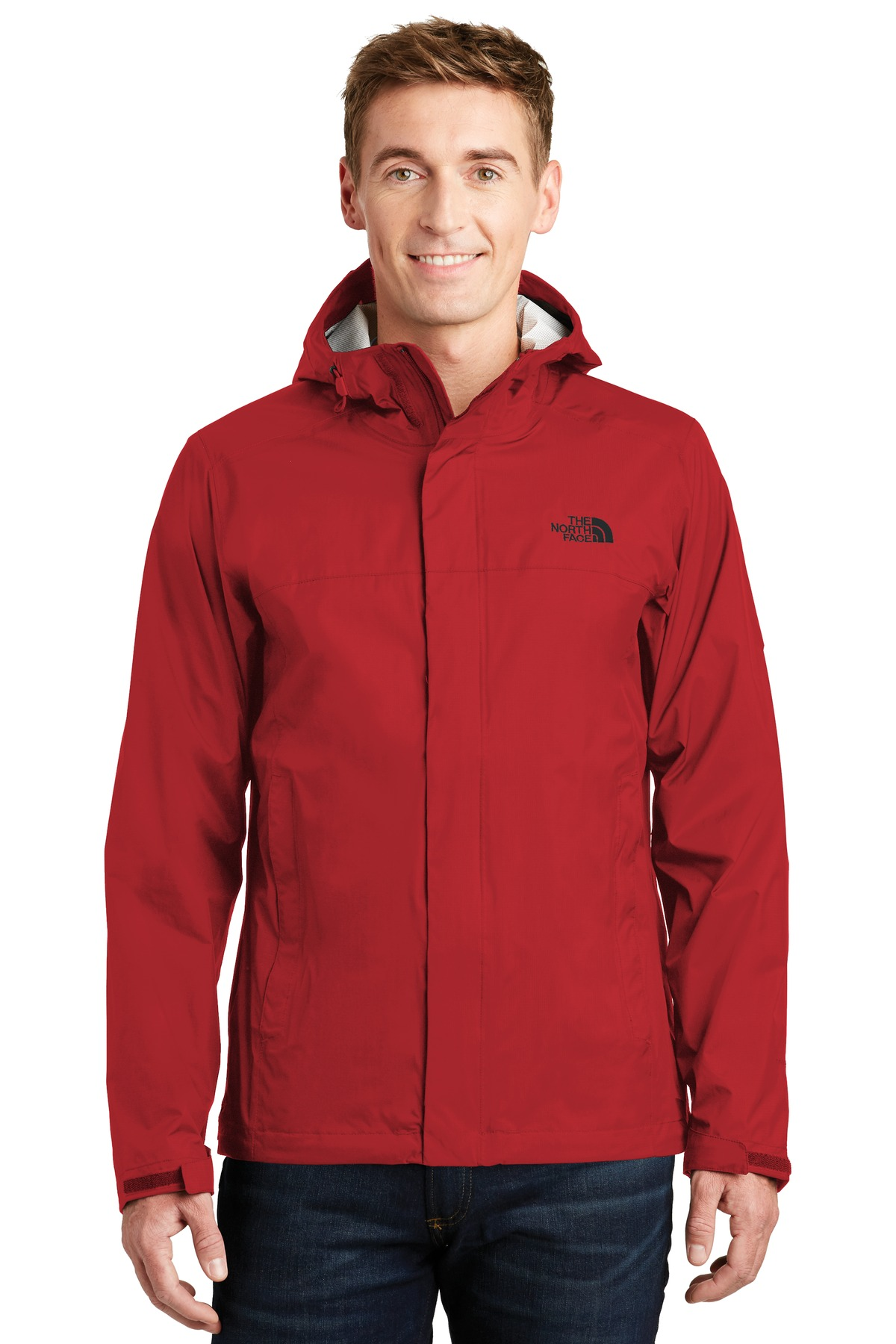 The North Face  ®  DryVent ™  Rain Jacket. NF0A3LH4 - Rage Red