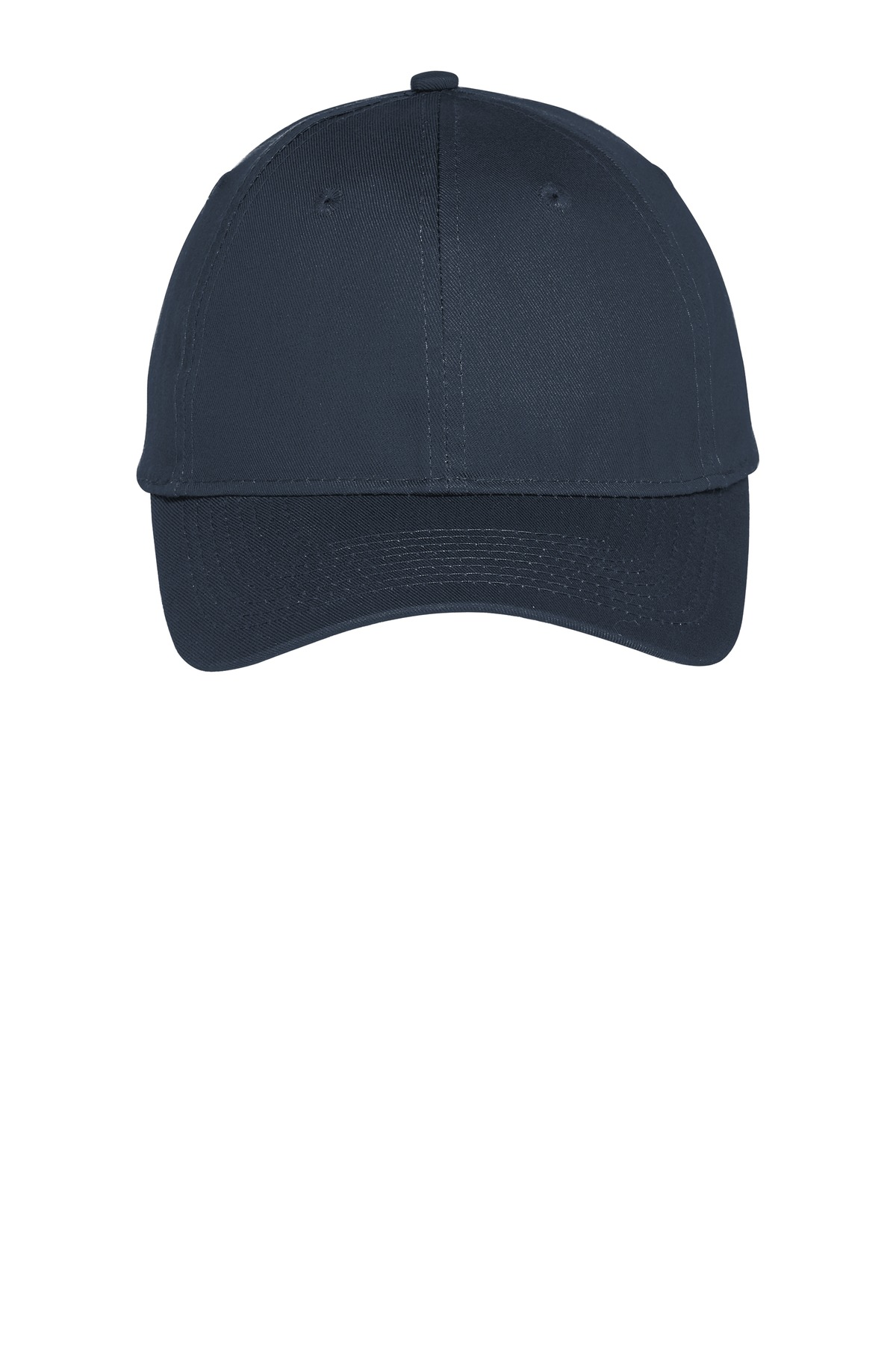 Port & Company ®  Six-Panel Unstructured Twill Cap. C914 - True Navy