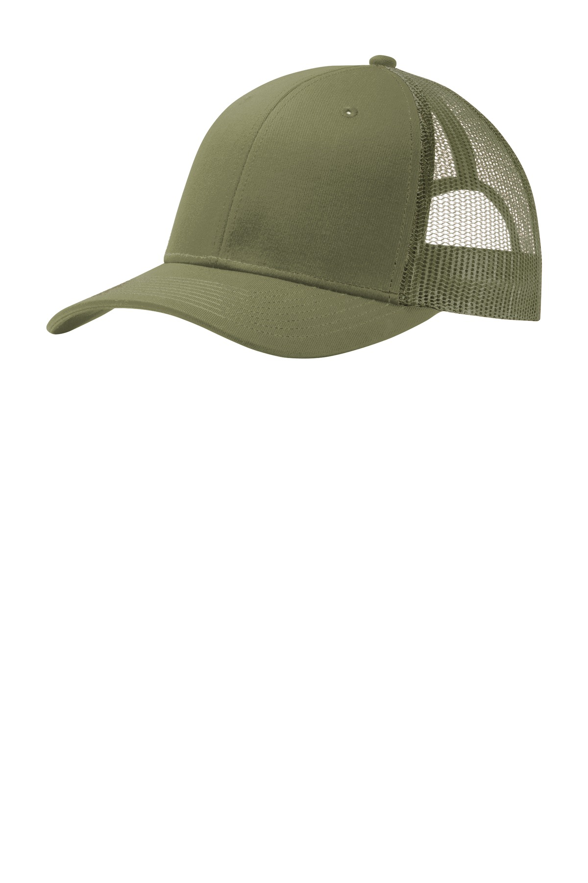 Port Authority ®  Snapback Trucker Cap. C112 - Olive Drab Green