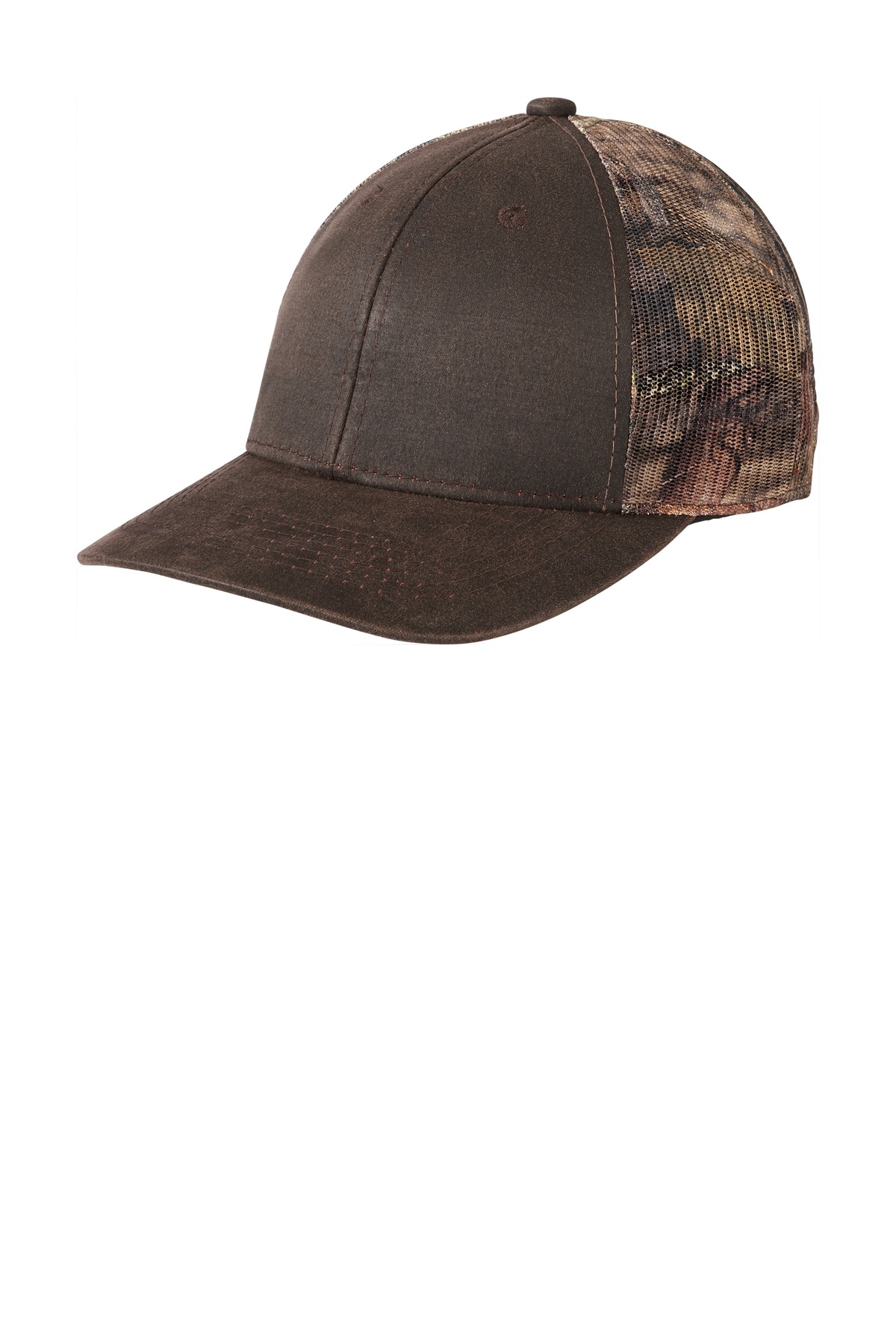 Port Authority  ®  Pigment Print Camouflage Mesh Back Cap C891 - Mossy Oak Break Up Country/ Brown