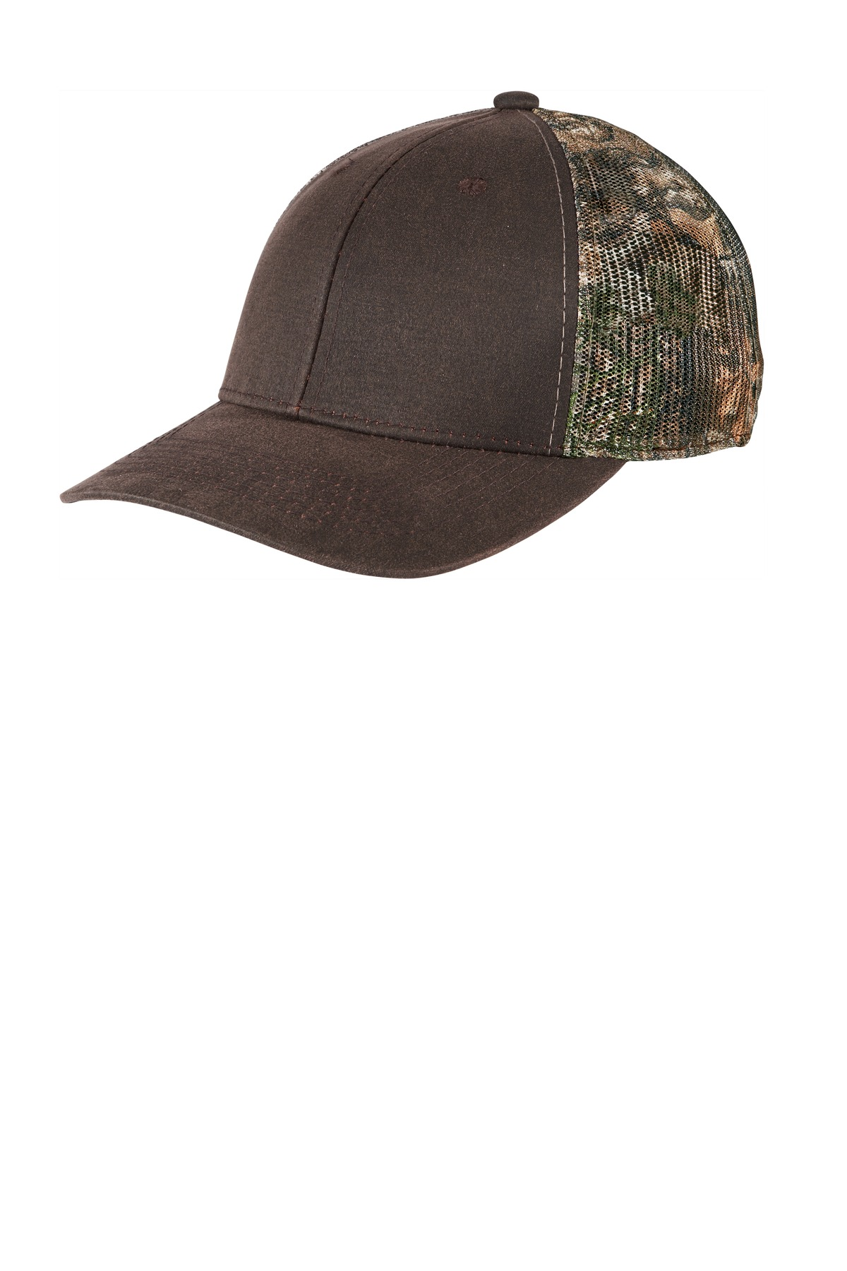 Port Authority  ®  Pigment Print Camouflage Mesh Back Cap C891 - Realtree Edge/ Brown