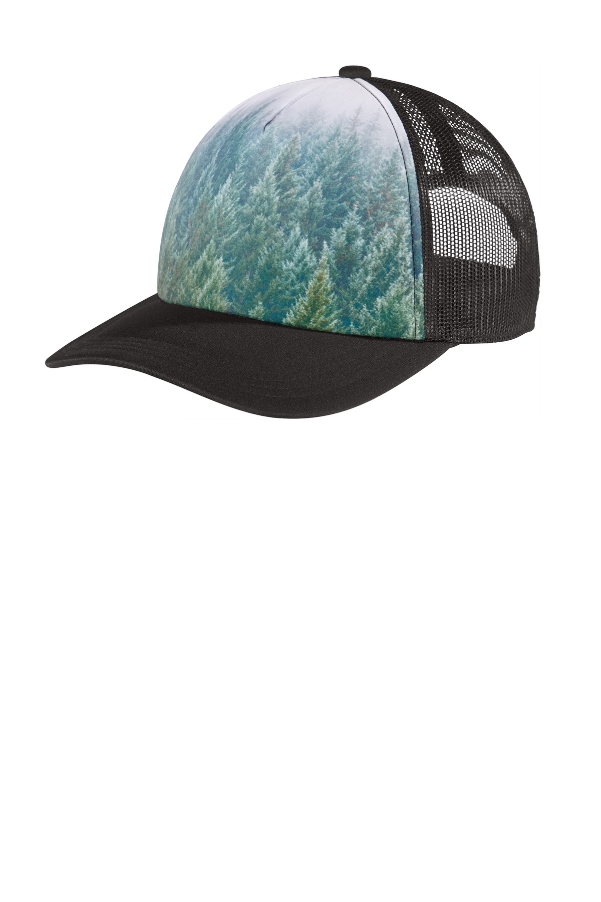 Port Authority  ®  Photo Real Snapback Trucker Cap C950 - Forest