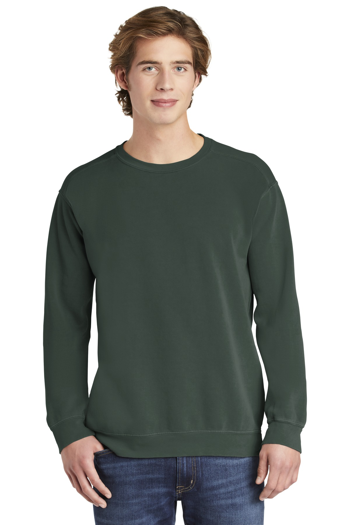 COMFORT COLORS  ®  Ring Spun Crewneck Sweatshirt. 1566 - Blue Spruce