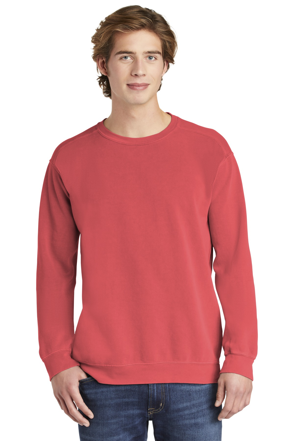 COMFORT COLORS  ®  Ring Spun Crewneck Sweatshirt. 1566 - Watermelon