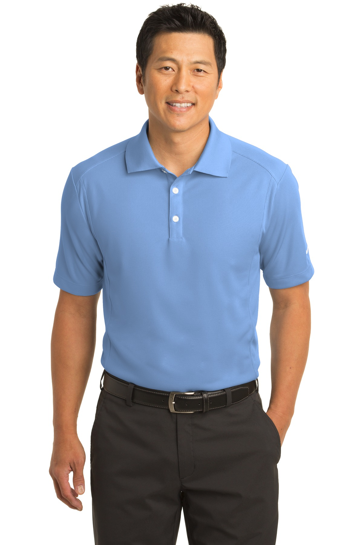 Nike Dri-FIT Classic Polo.  267020 - Light Blue