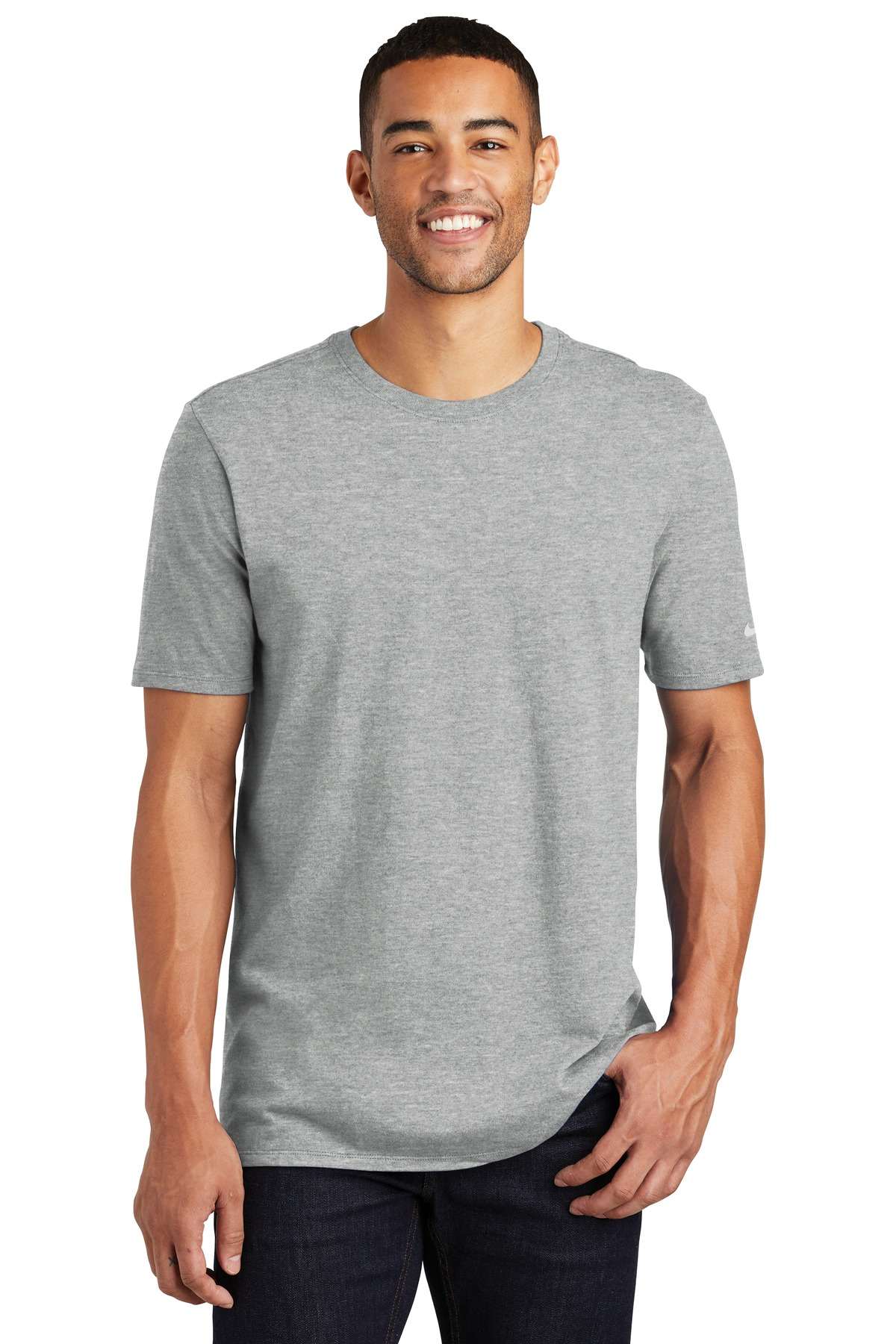 Nike Core Cotton Tee. NKBQ5233 - Dark Grey Heather