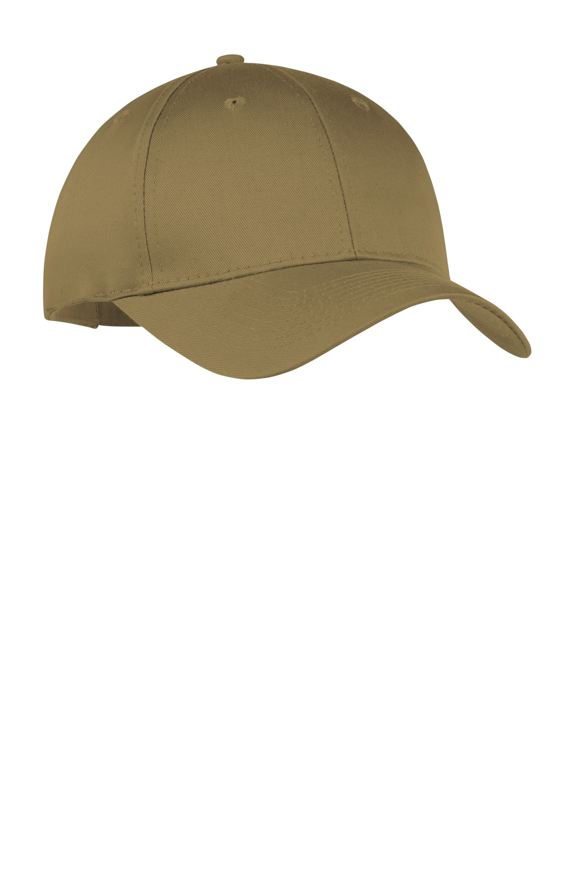 Port & Company ® Six-Panel Twill Cap.  CP80 - Coyote Brown