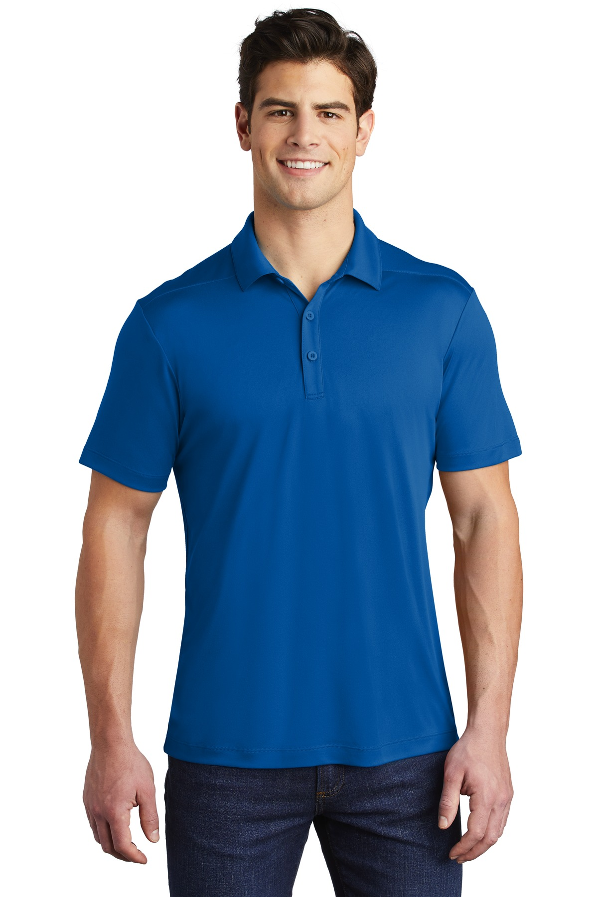 Sport-Tek  ®   Posi-UV ™   Pro Polo. ST520 - True Royal