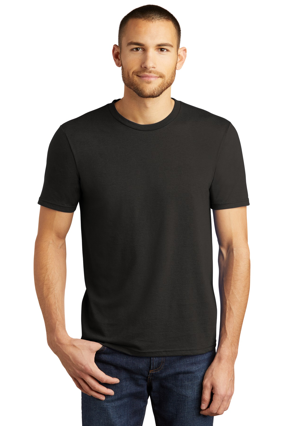 District  ®  Perfect Tri ® Tee. DM130 - Black