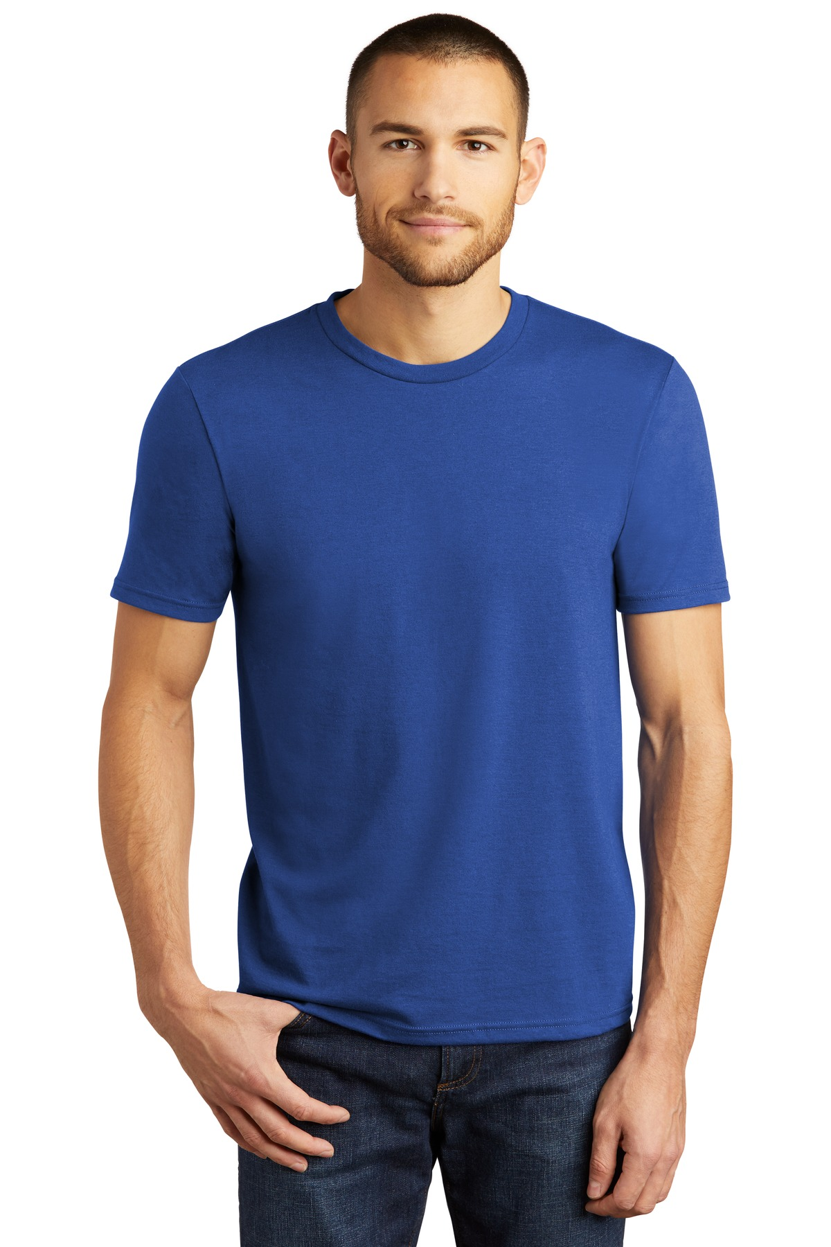 District  ®  Perfect Tri ® Tee. DM130 - Deep Royal