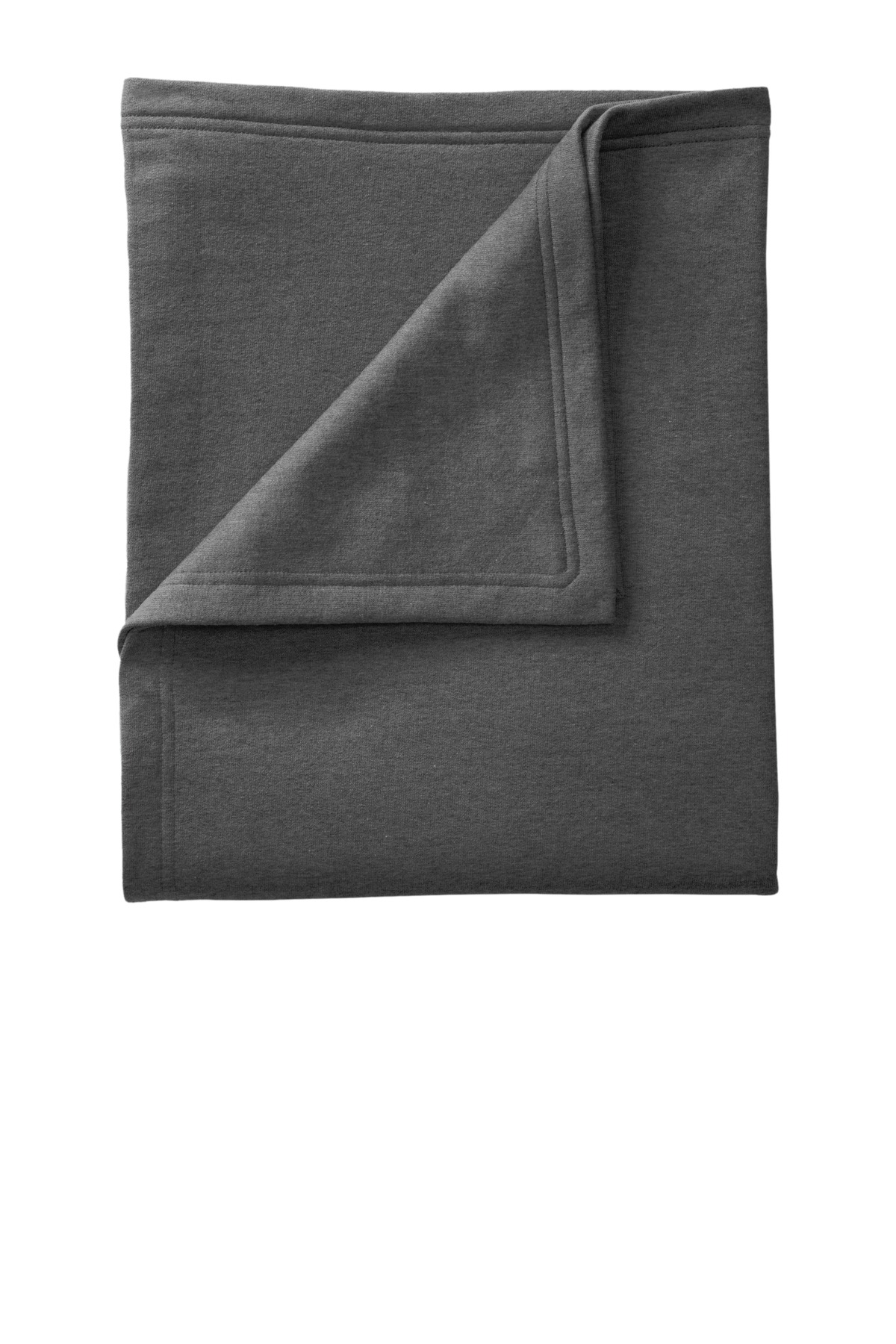 Port & Company ®  Core Fleece Sweatshirt Blanket. BP78 - Dark Heather Grey