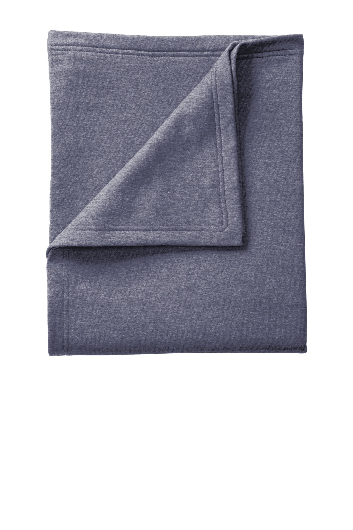 Port & Company ®  Core Fleece Sweatshirt Blanket. BP78 - Heather Navy