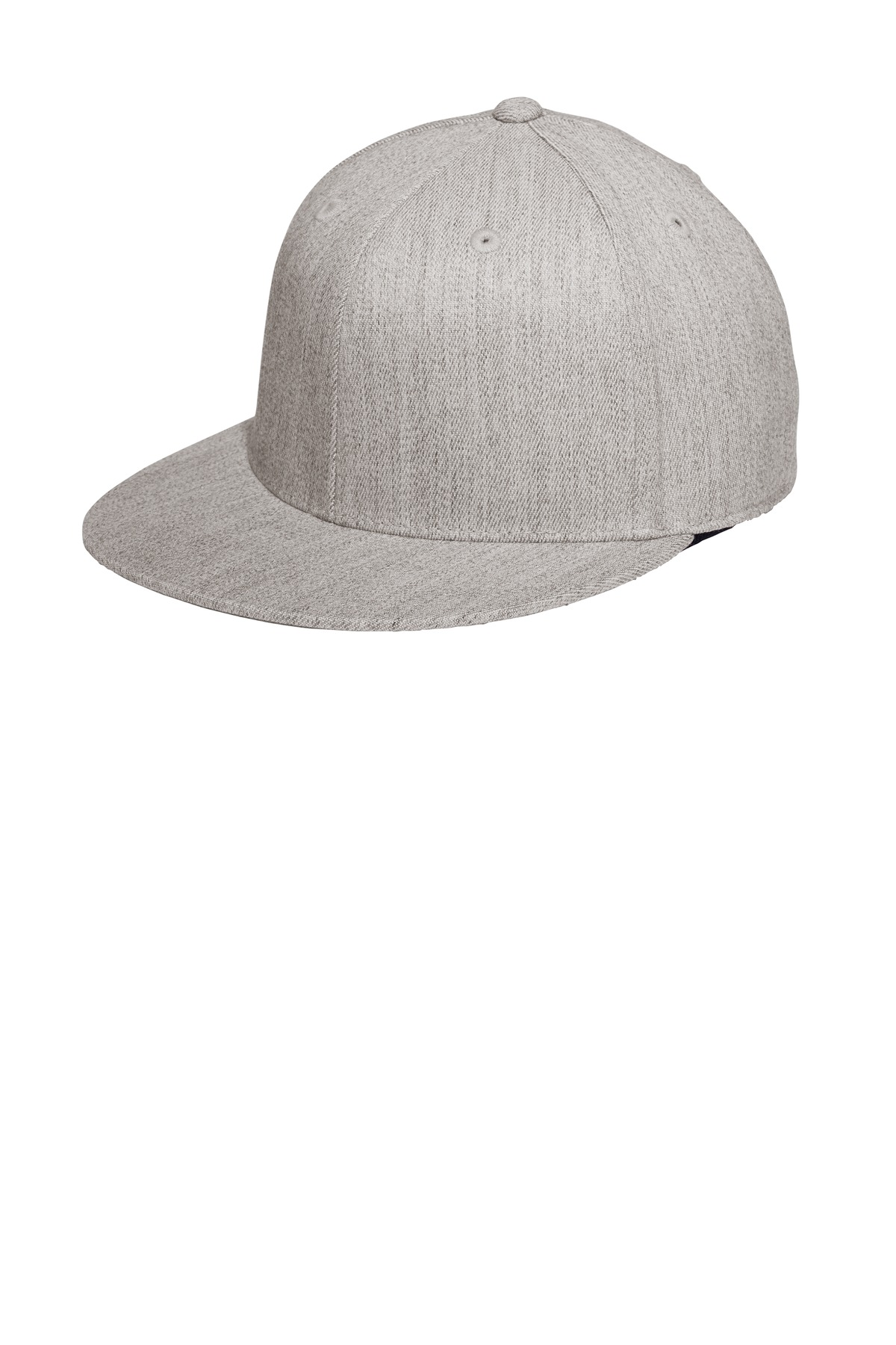 Port Authority ®  Flexfit 210 ®  Flat Bill Cap. C808 - Heather Grey