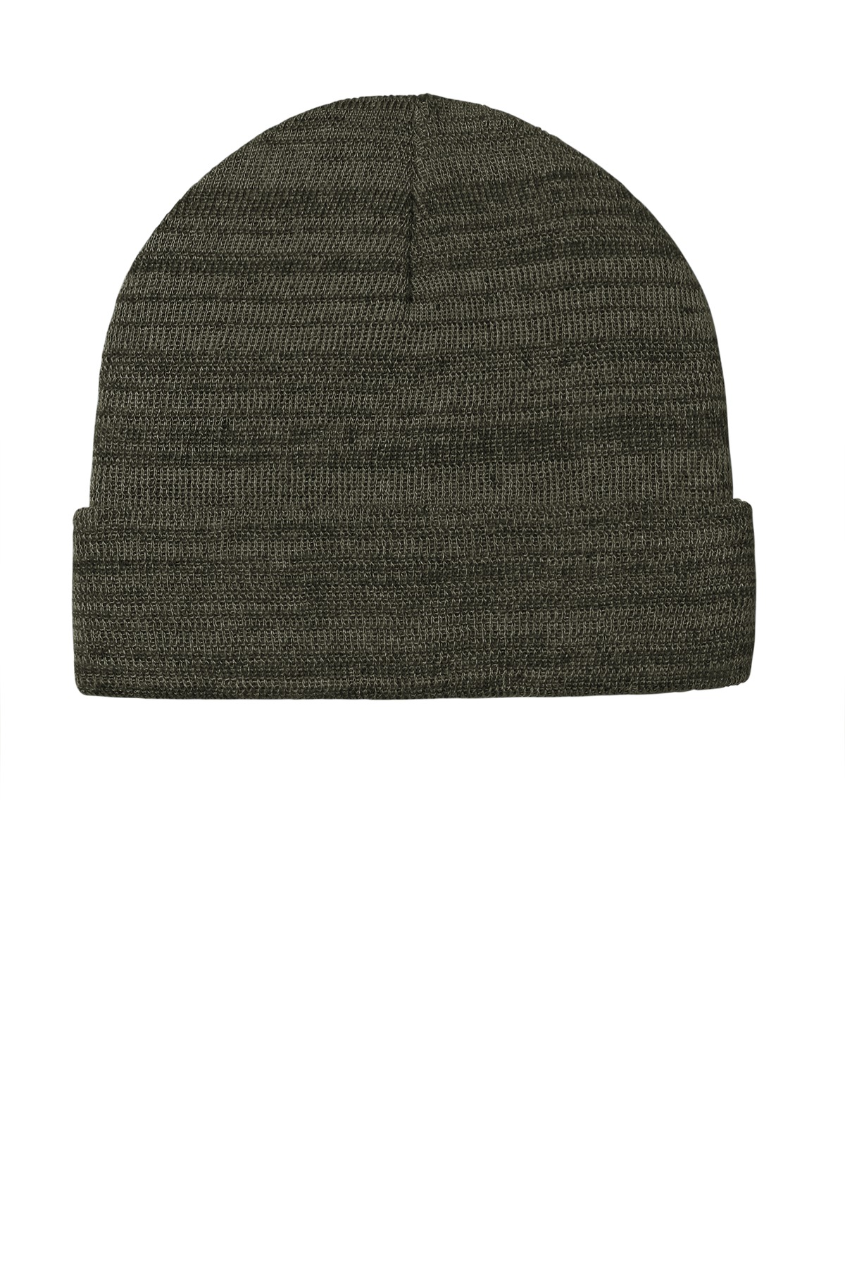 Port Authority  ®  Knit Cuff Beanie C939 - Olive Green Heather