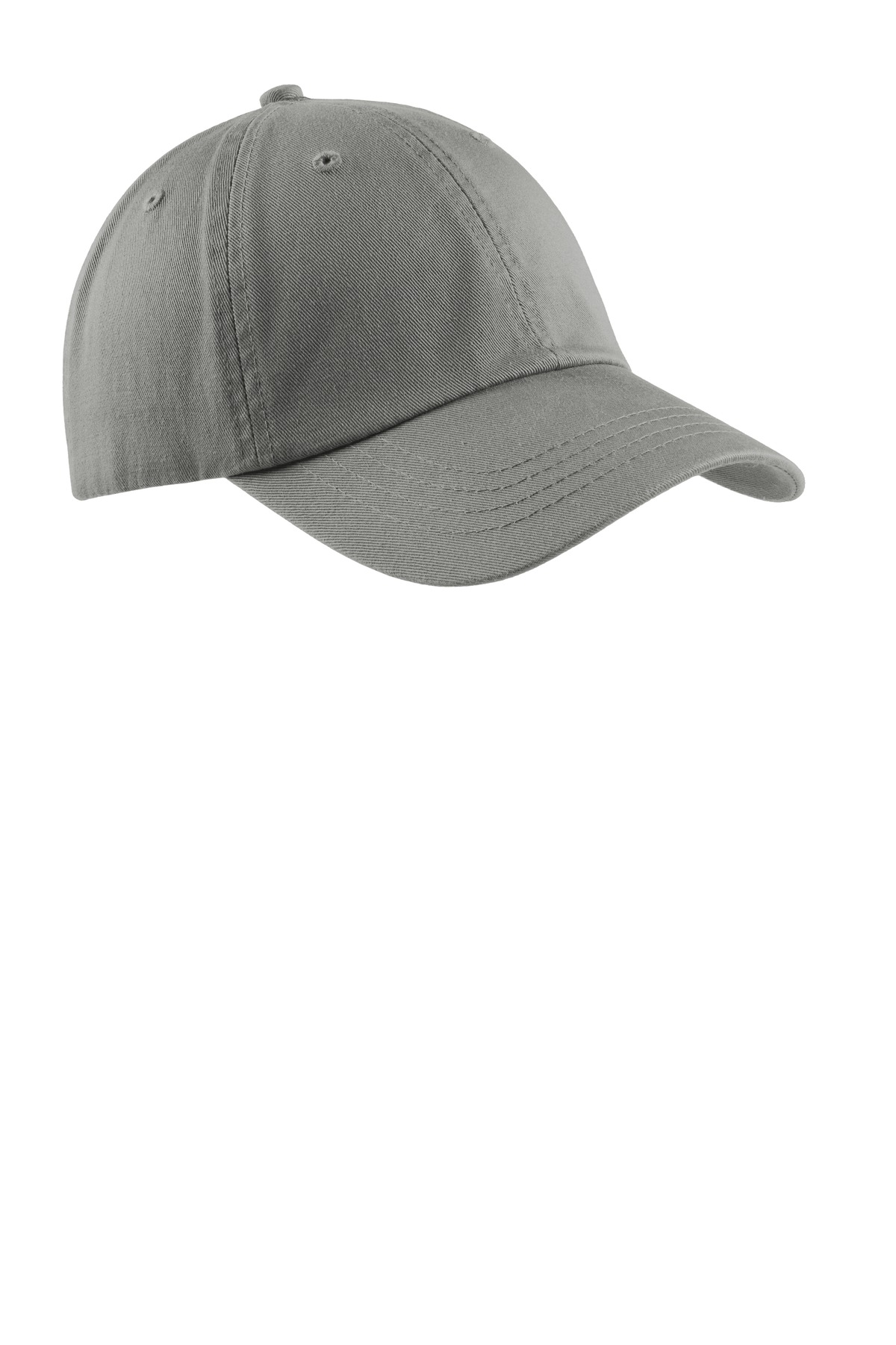 Port & Company ®  - Washed Twill Cap.  CP78 - Deep Smoke