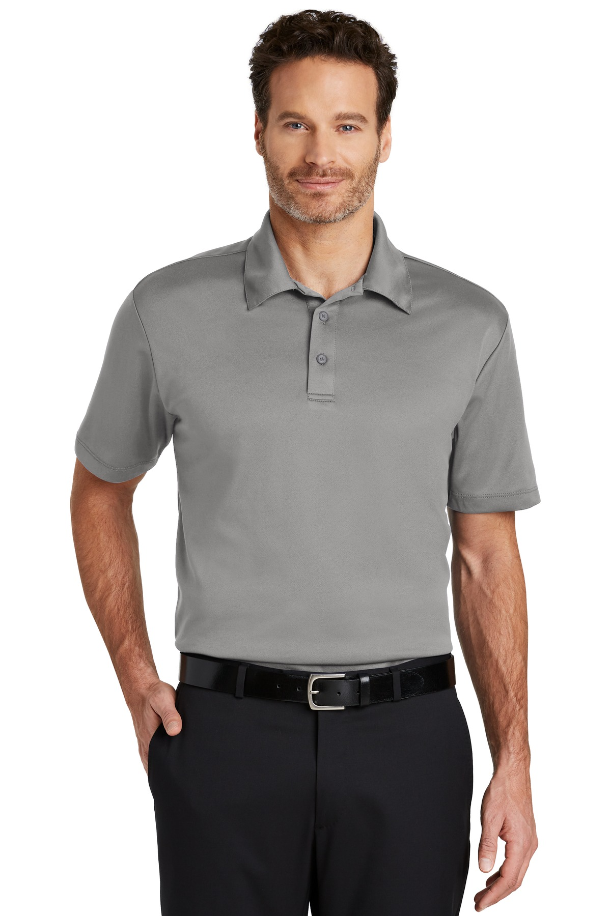 Port Authority ®  Silk Touch™ Performance Polo. K540 - Gusty Grey