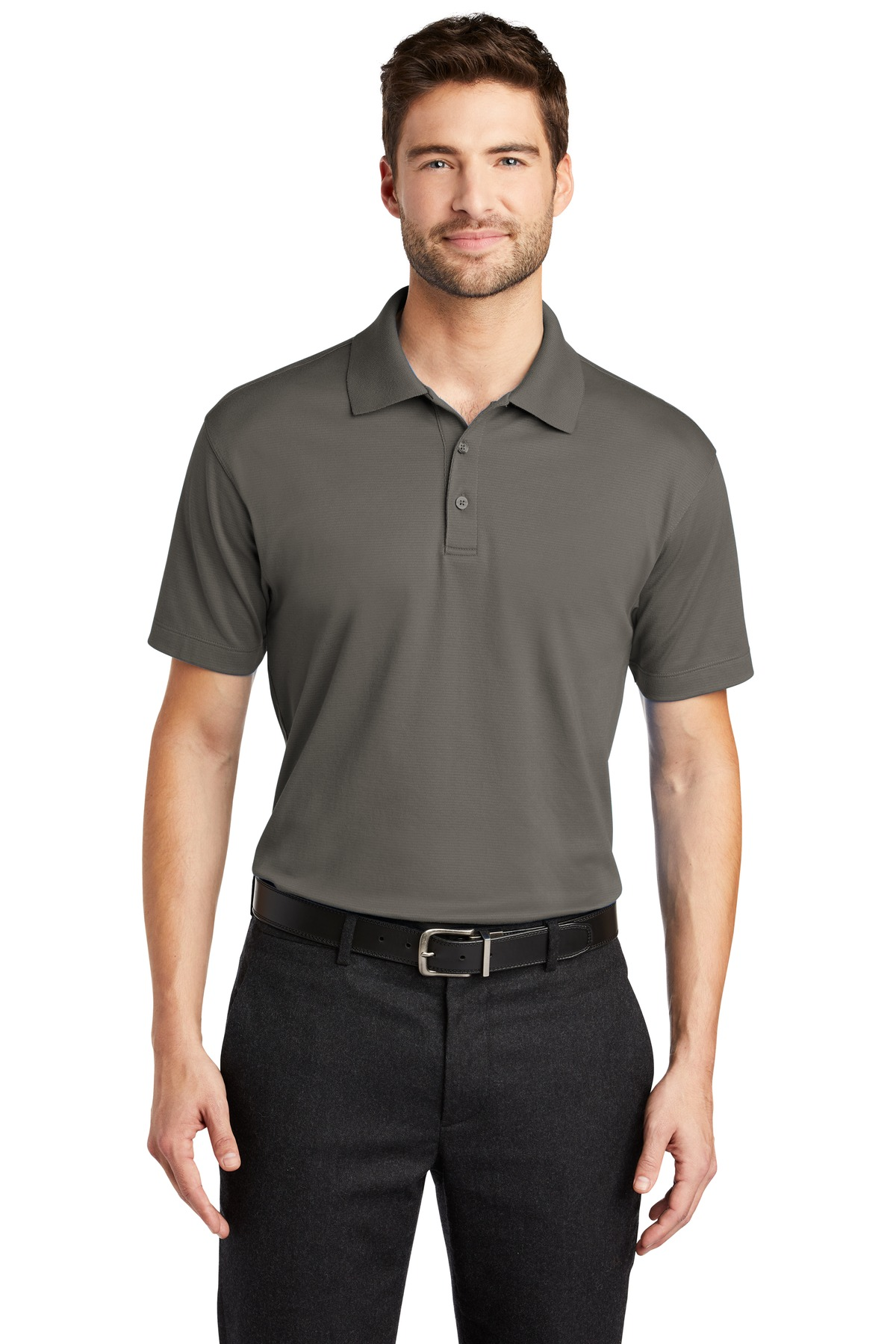 Port Authority ®  Rapid Dry ™  Mesh Polo. K573 - Grey Smoke