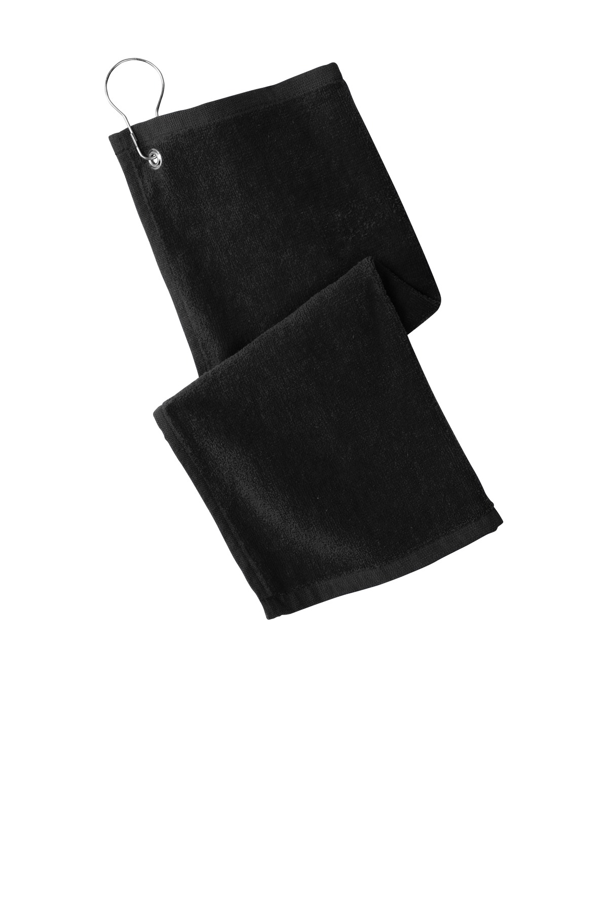 Port Authority  ®  Grommeted Hemmed Towel PT400 - Black