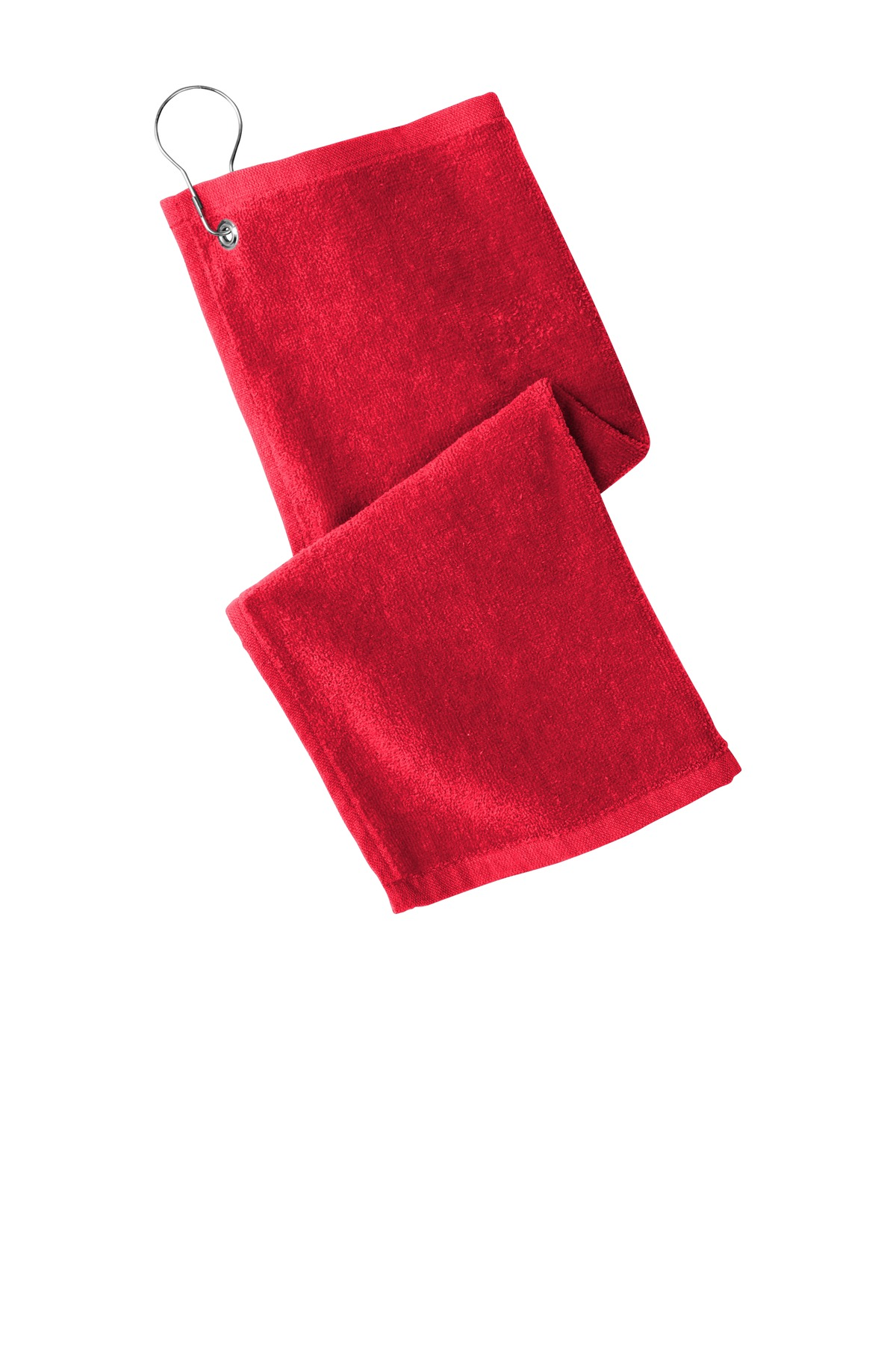 Port Authority  ®  Grommeted Hemmed Towel PT400 - Red