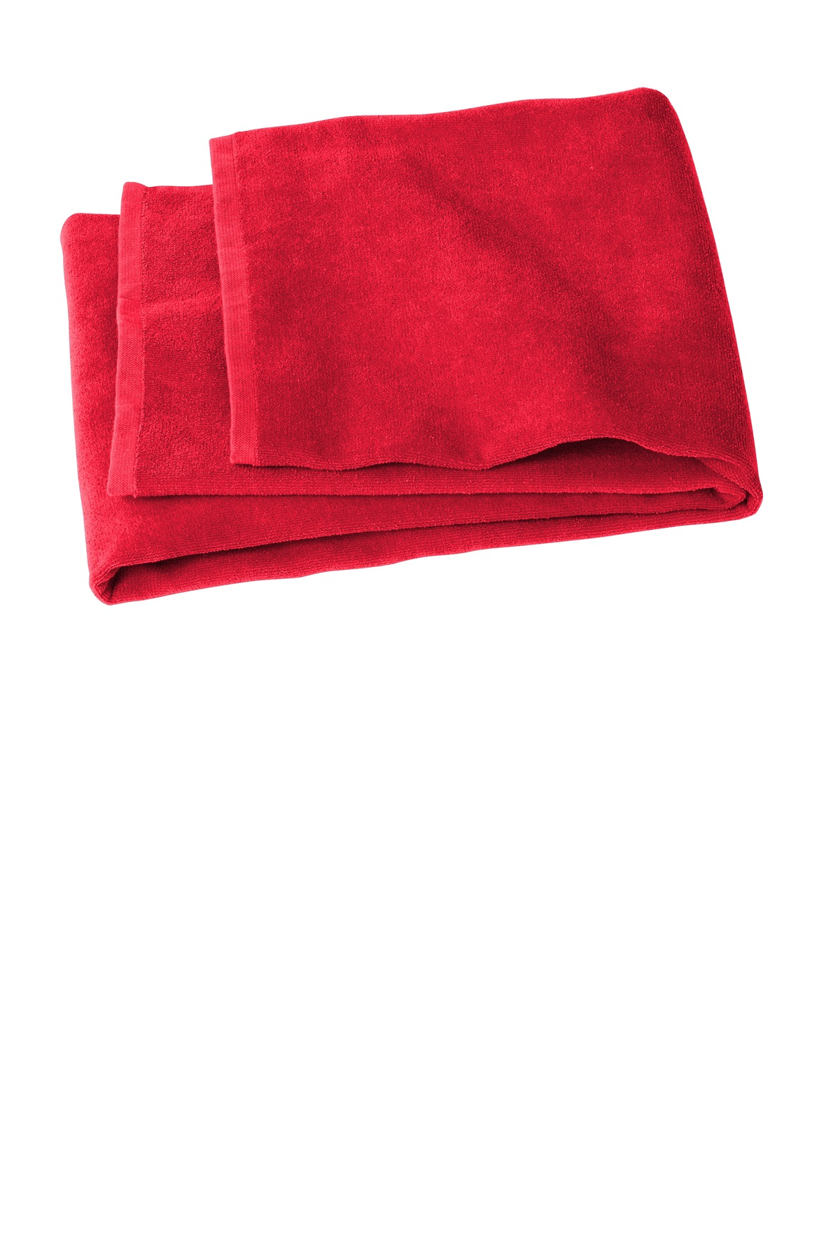 Port Authority  ®  Value Beach Towel PT44 - Red