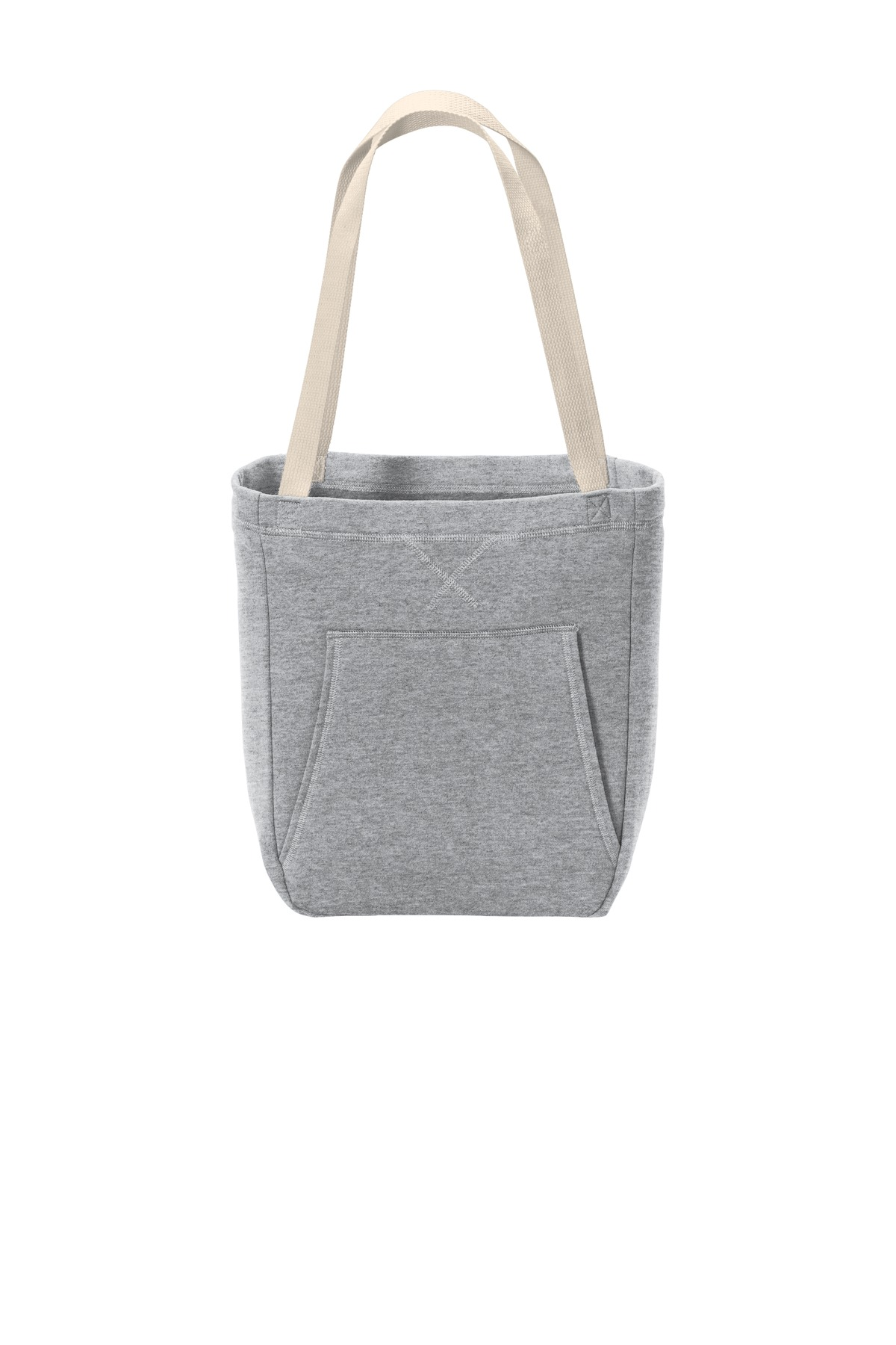 Port & Company  ®  Core Fleece Sweatshirt Tote BG415 - Athletic Heather