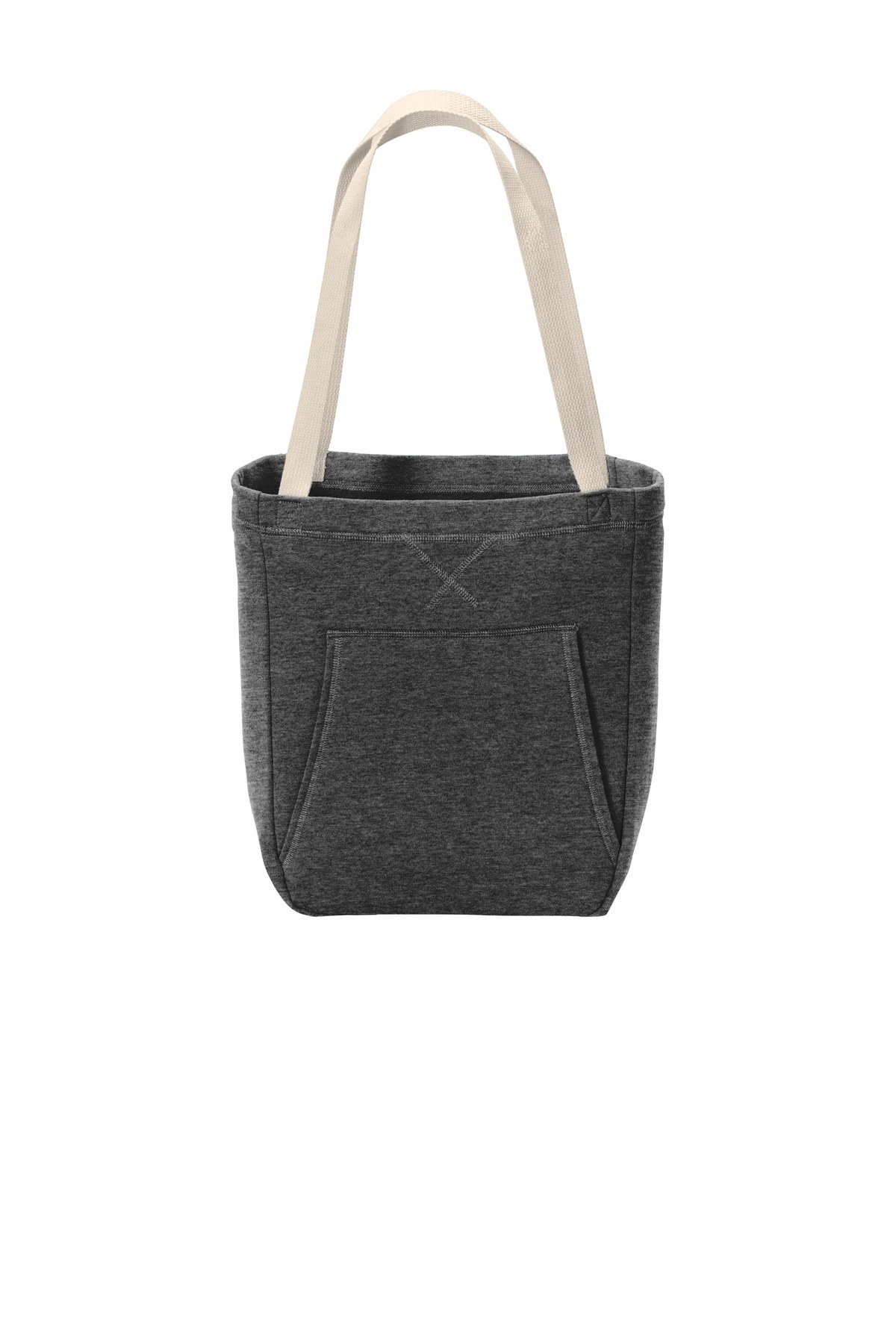 Port & Company  ®  Core Fleece Sweatshirt Tote BG415 - Dark Heather Grey