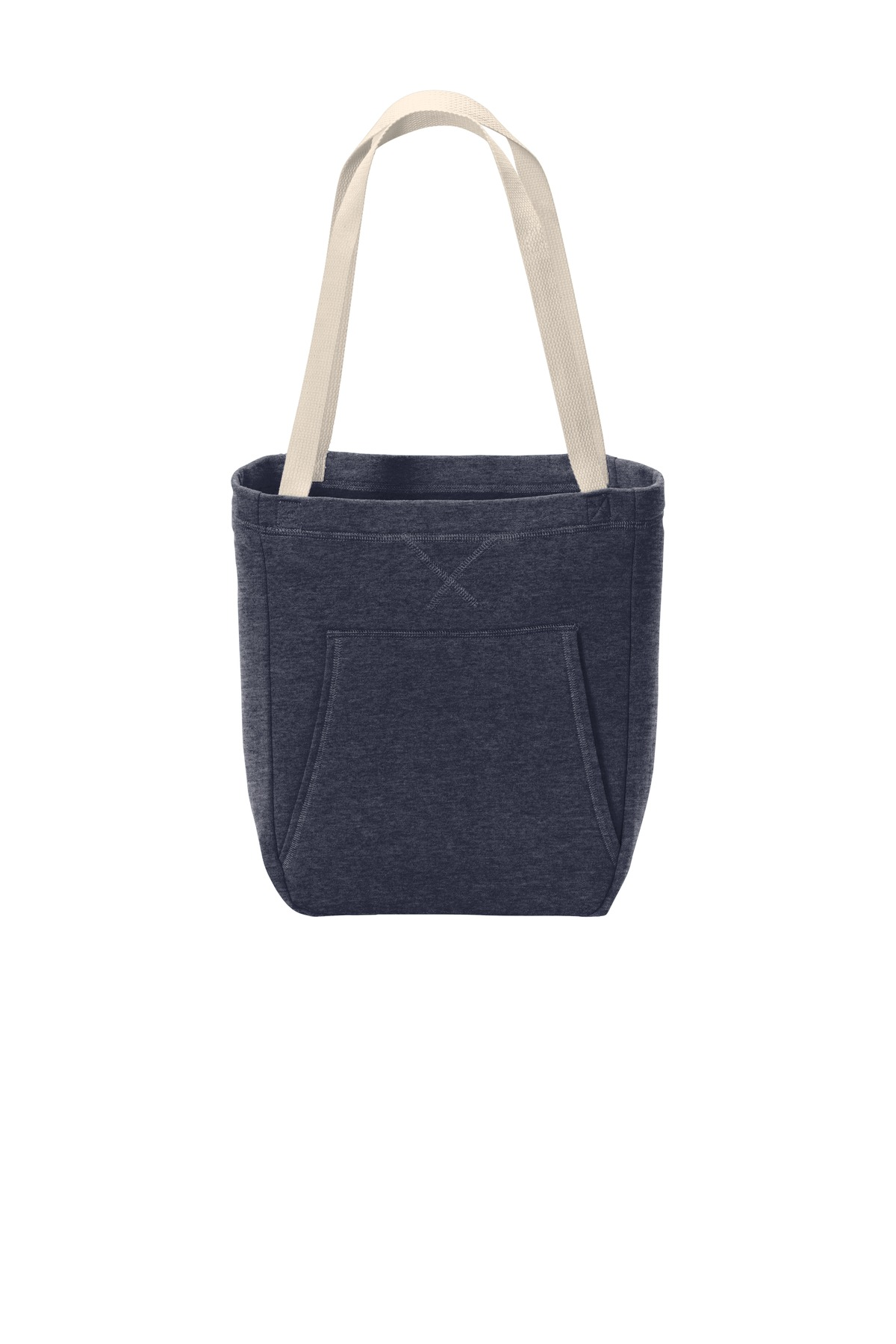 Port & Company  ®  Core Fleece Sweatshirt Tote BG415 - Heather Navy