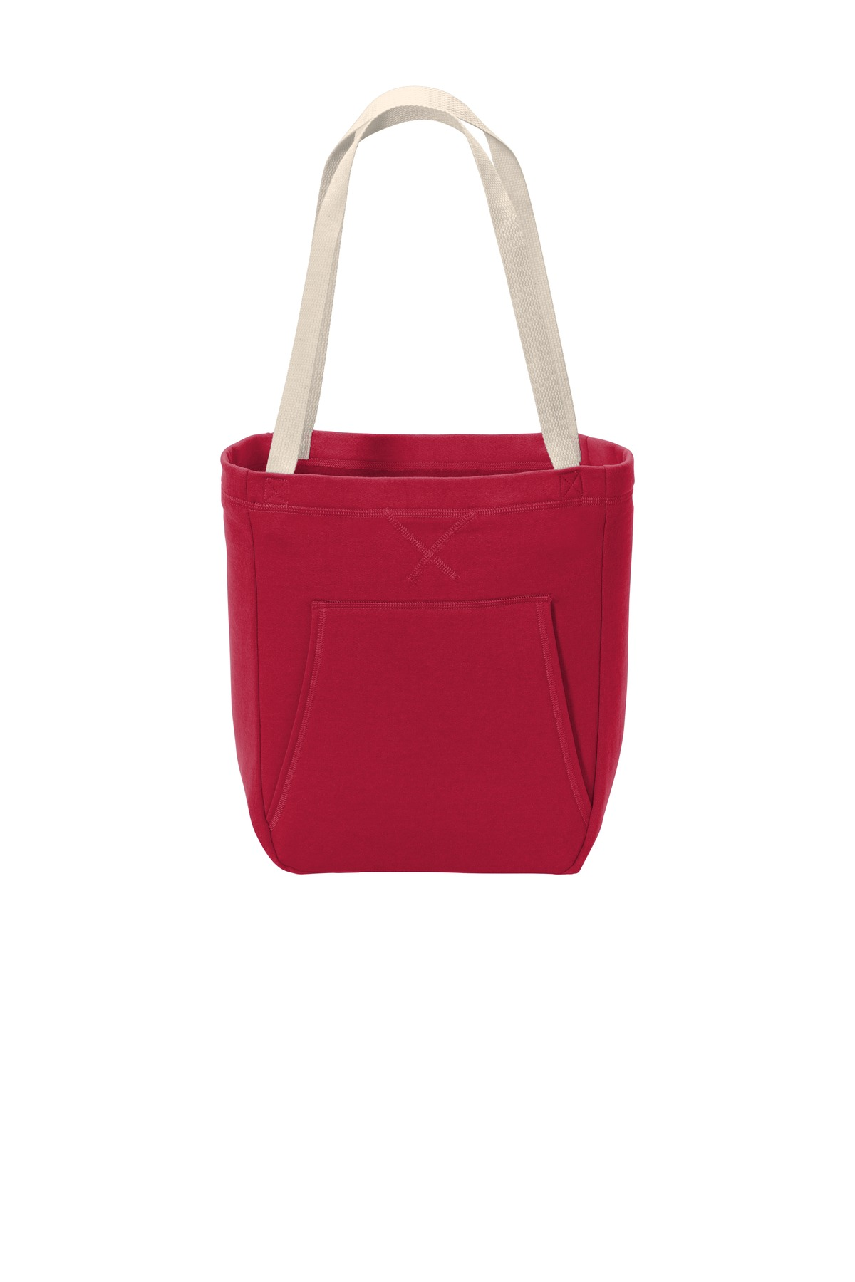 Port & Company  ®  Core Fleece Sweatshirt Tote BG415 - Red