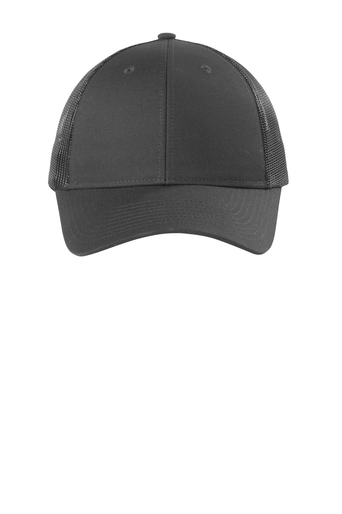 Port Authority  ®  Low-Profile Snapback Trucker Cap. C112LP - Grey Steel