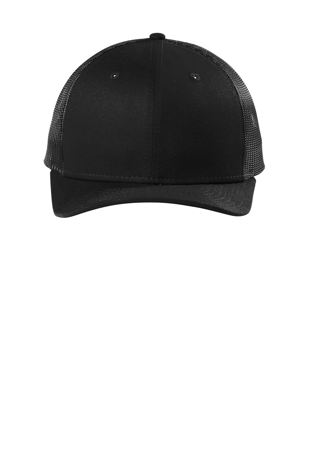 New Era  ®   Snapback Low Profile Trucker Cap   NE207 - Black