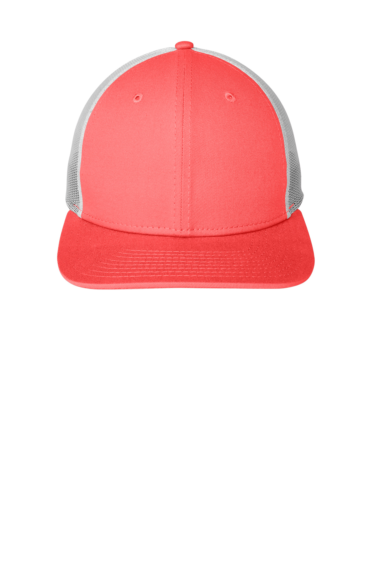 New Era  ®   Snapback Low Profile Trucker Cap   NE207 - Coral/ White