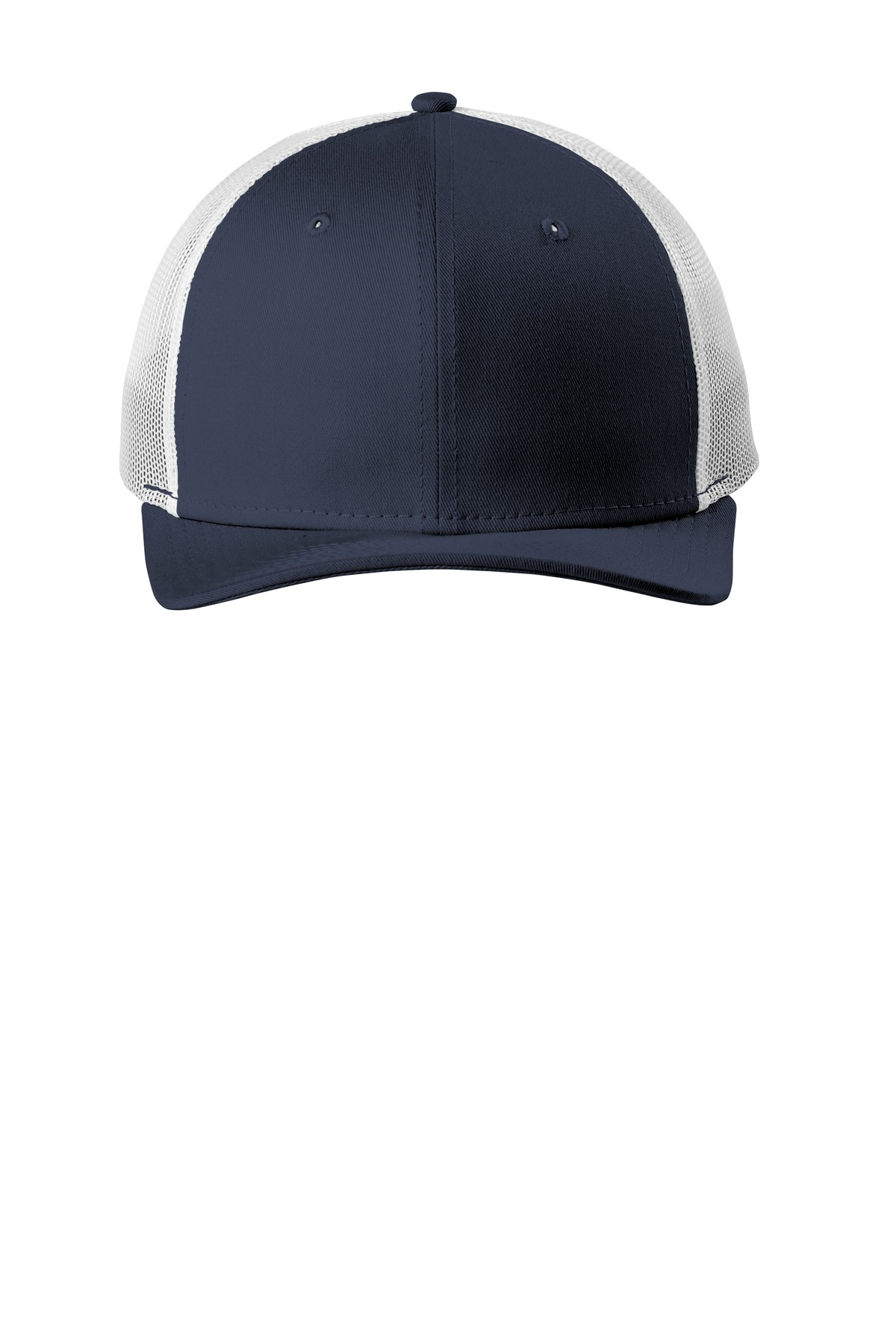 New Era  ®   Snapback Low Profile Trucker Cap   NE207 - Deep Navy/ White