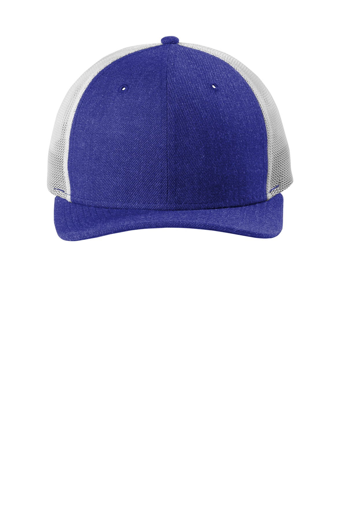 New Era  ®   Snapback Low Profile Trucker Cap   NE207 - Heather Royal/ White