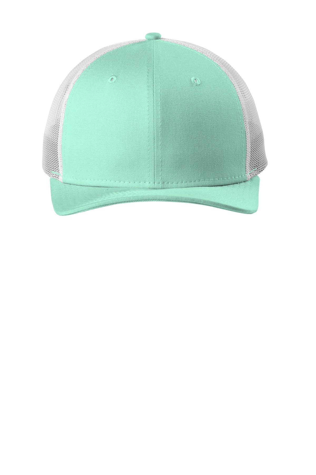 New Era  ®   Snapback Low Profile Trucker Cap   NE207 - Mint/ White