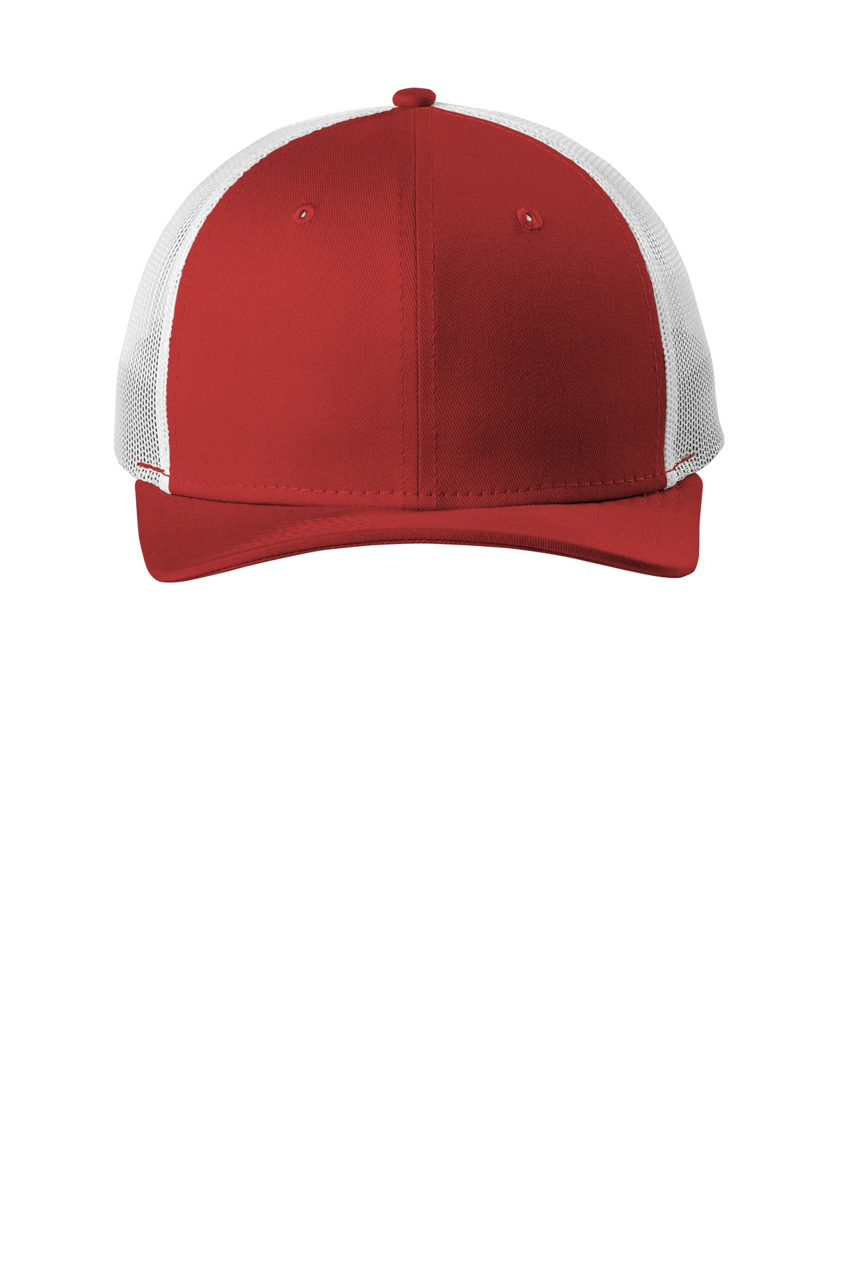 New Era  ®   Snapback Low Profile Trucker Cap   NE207 - Scarlet/ White
