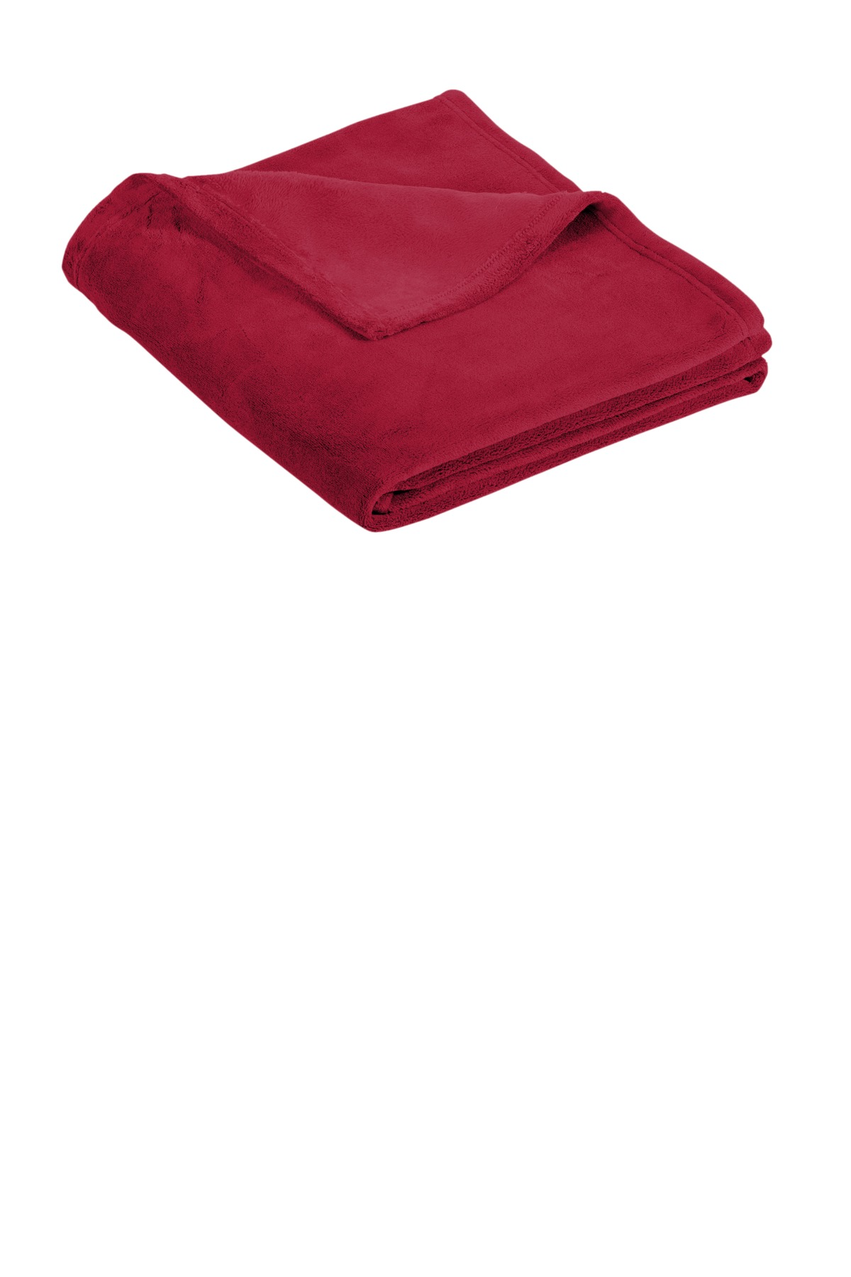 Port Authority  ®   Ultra Plush Blanket. BP31 - Rich Red
