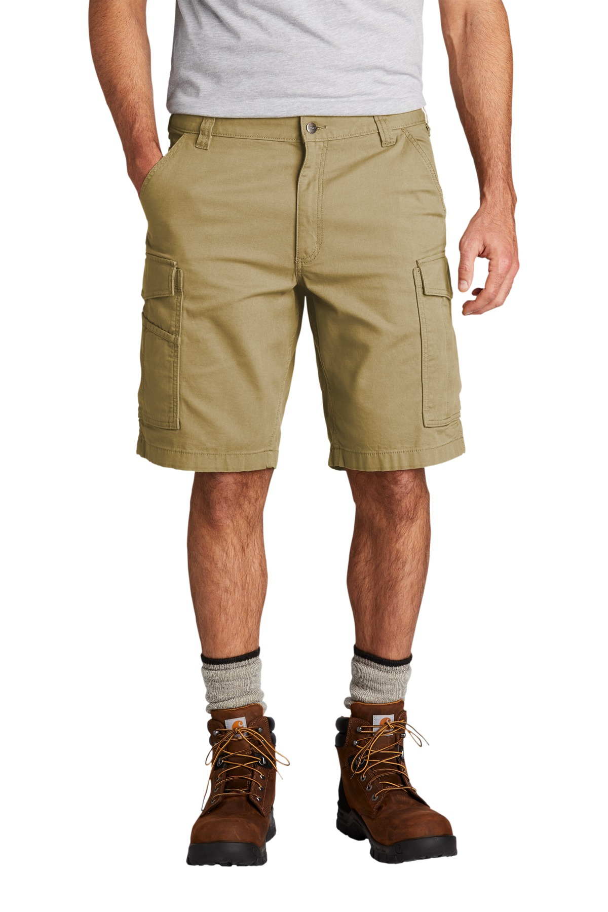 Carhartt ®  Rugged Flex ®  Rigby Cargo Short CT103542 - Dark Khaki