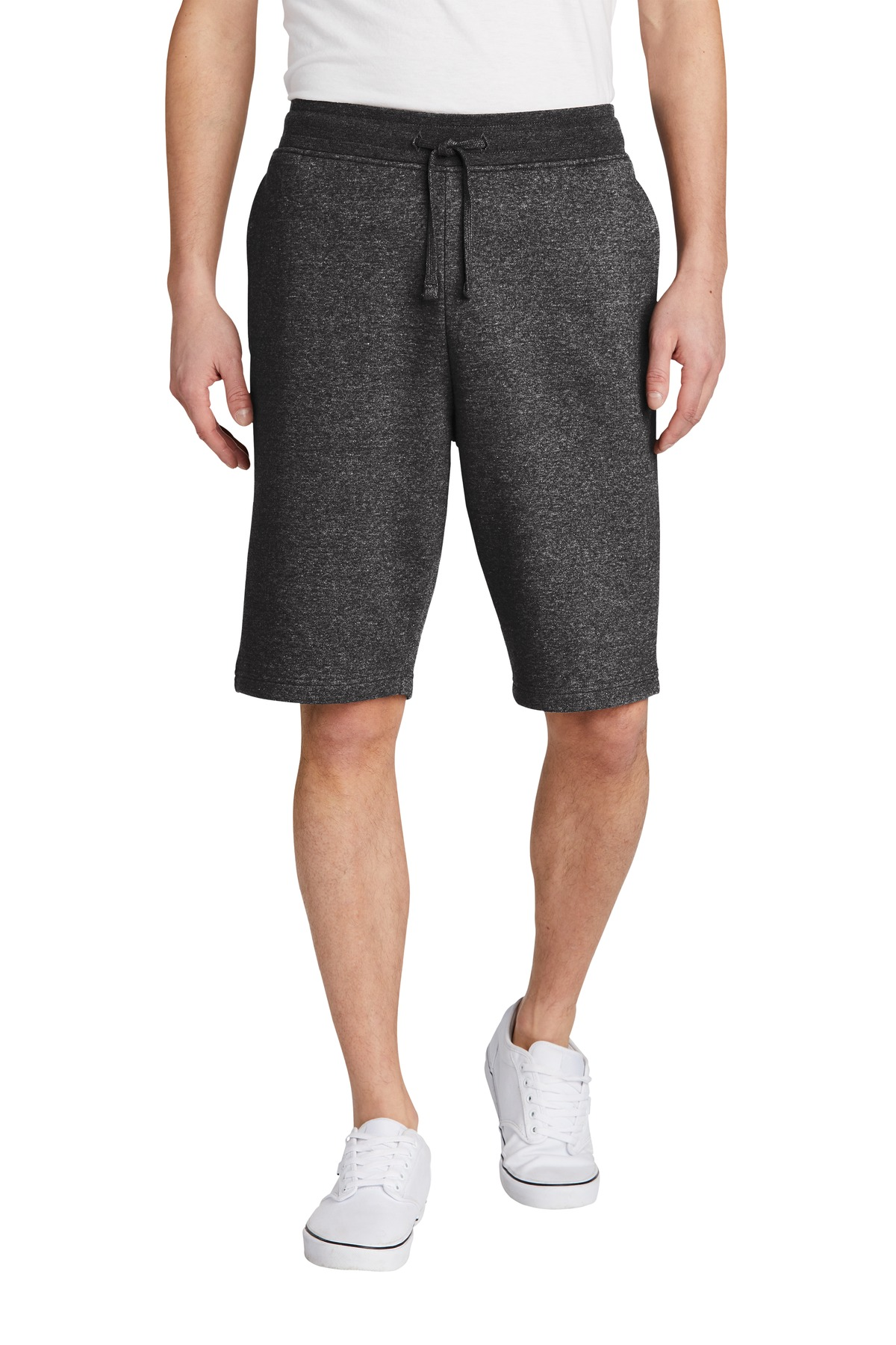 District ®  V.I.T. ™ Fleece Short DT6108 - Heathered Charcoal