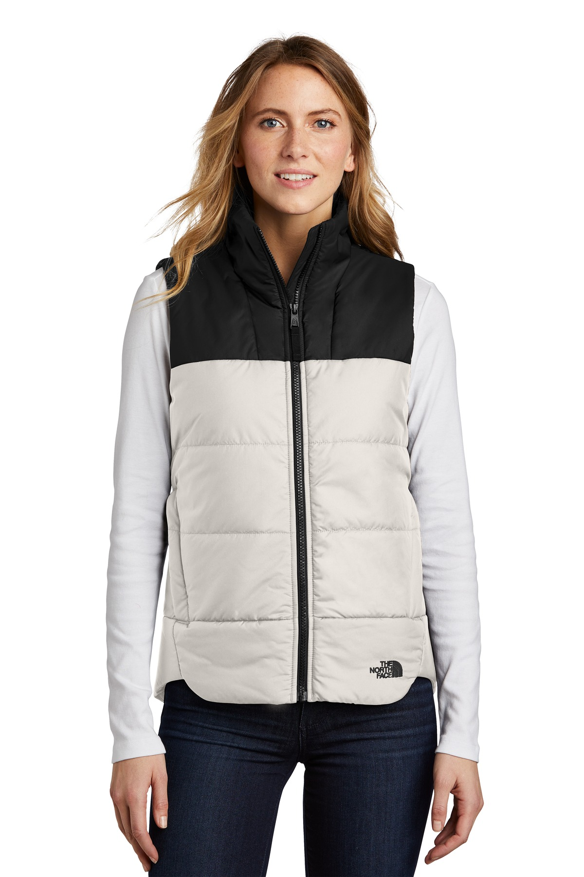 The North Face  ®  Ladies Everyday Insulated Vest. NF0A529Q - Vintage White