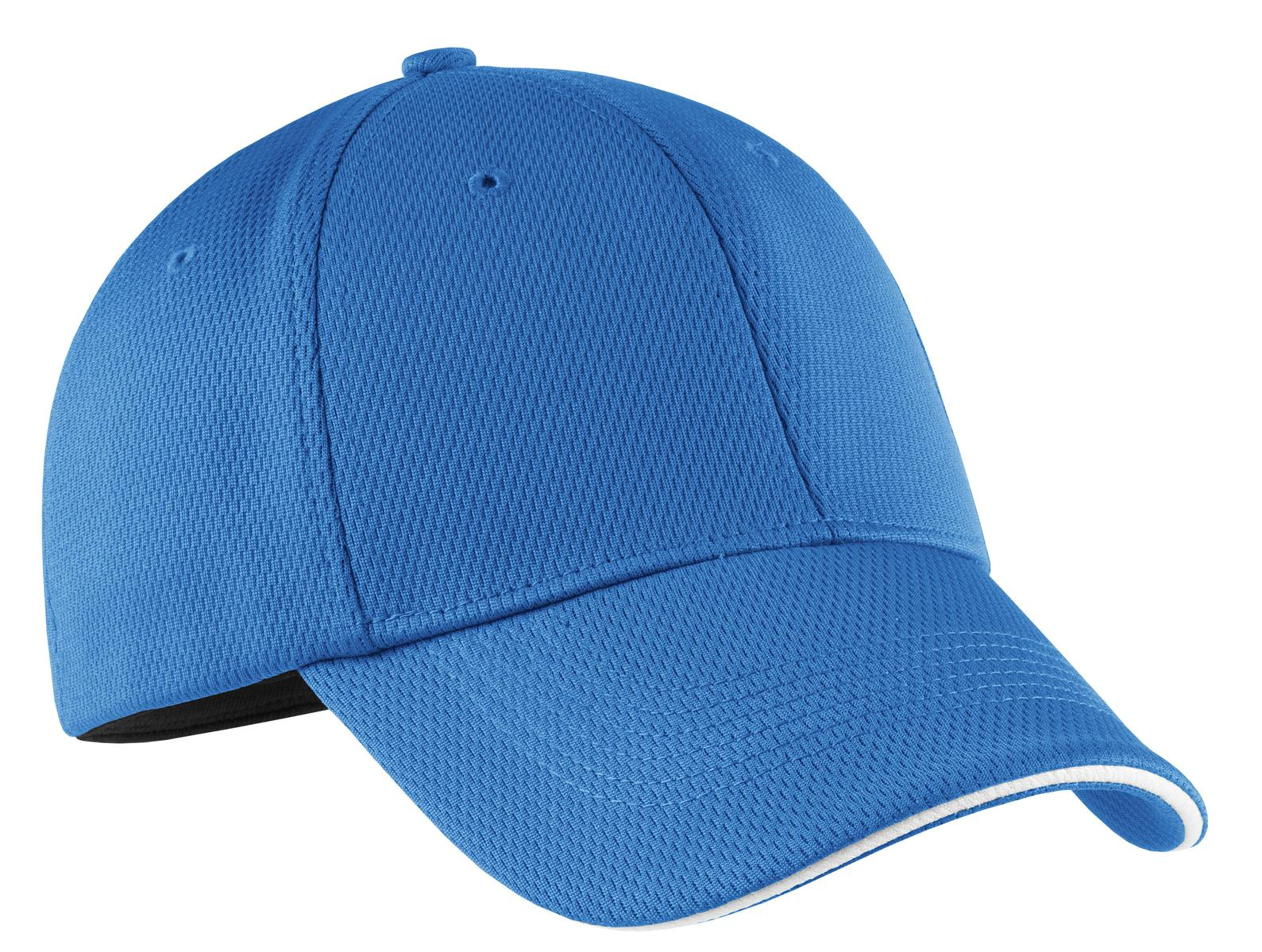 Nike Dri-FIT Mesh Swoosh Flex Sandwich Cap.  333115 - Pacific Blue