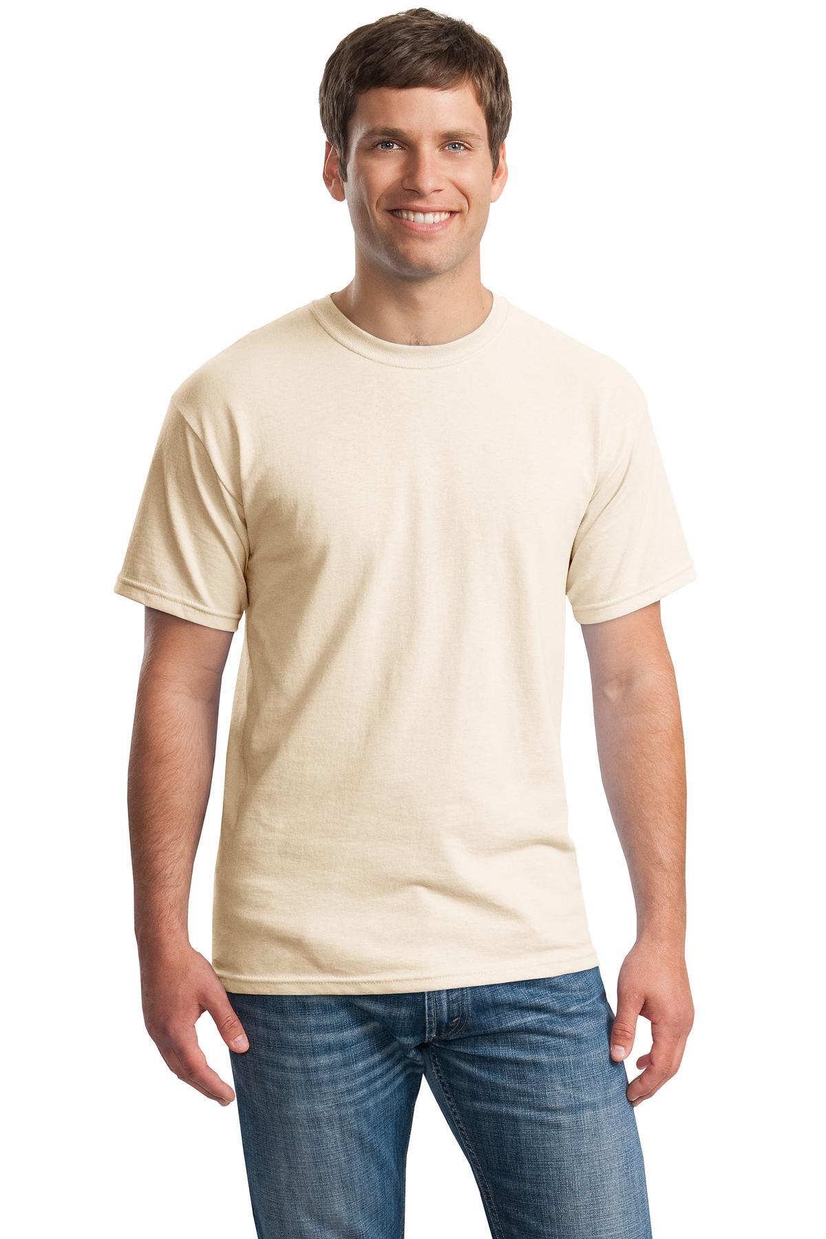 Gildan ®  - Heavy Cotton ™  100% Cotton T-Shirt.  5000 - Natural