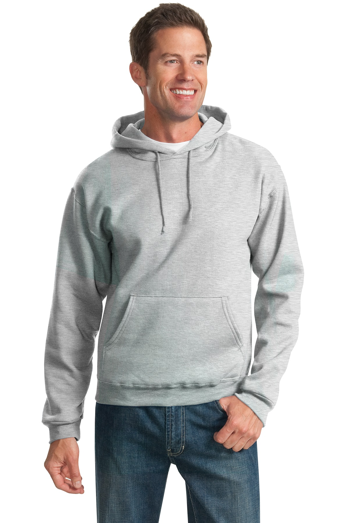 JERZEES ®  - NuBlend ®  Pullover Hooded Sweatshirt.  996M - Ash