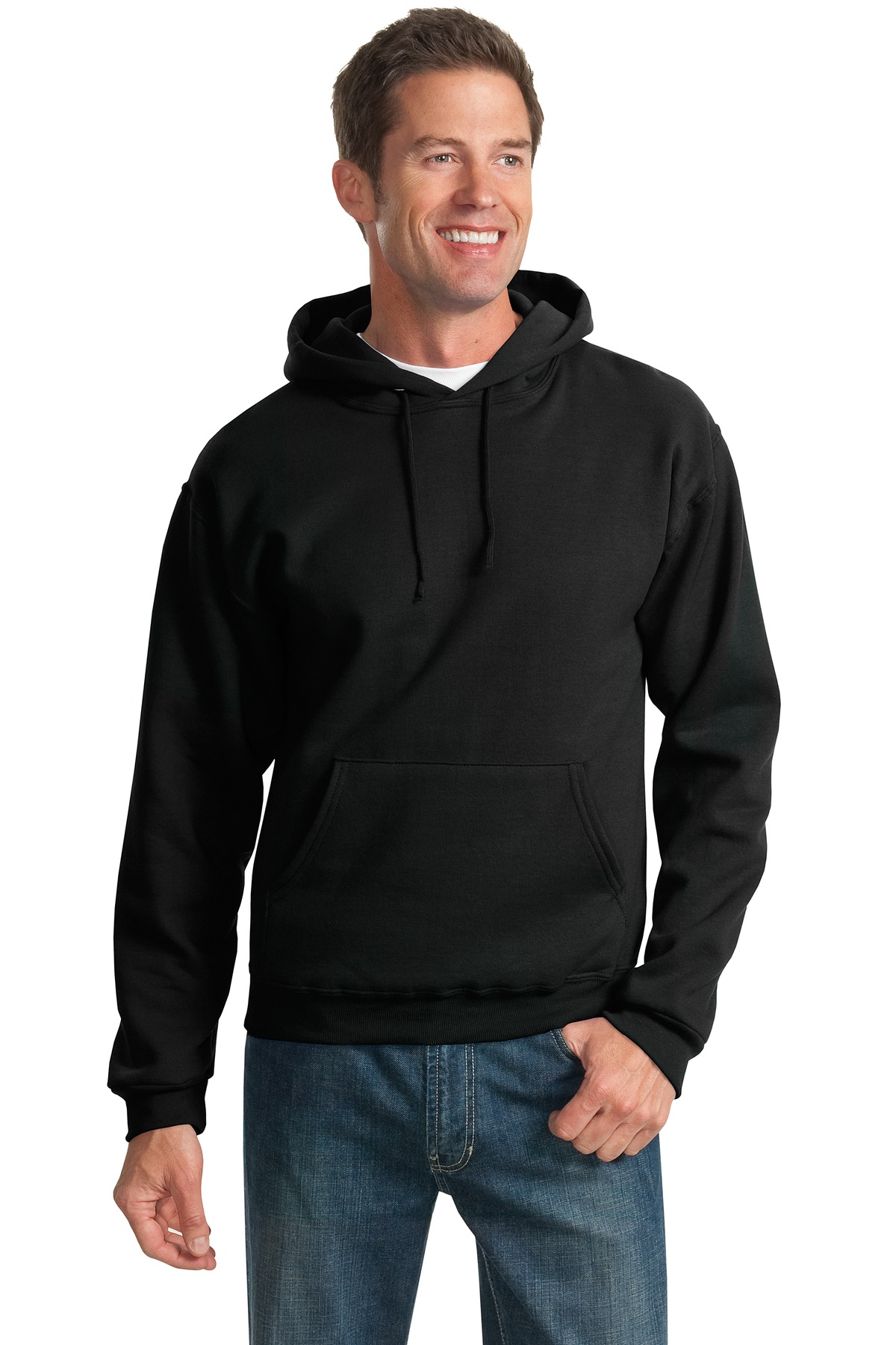 JERZEES ®  - NuBlend ®  Pullover Hooded Sweatshirt.  996M - Black