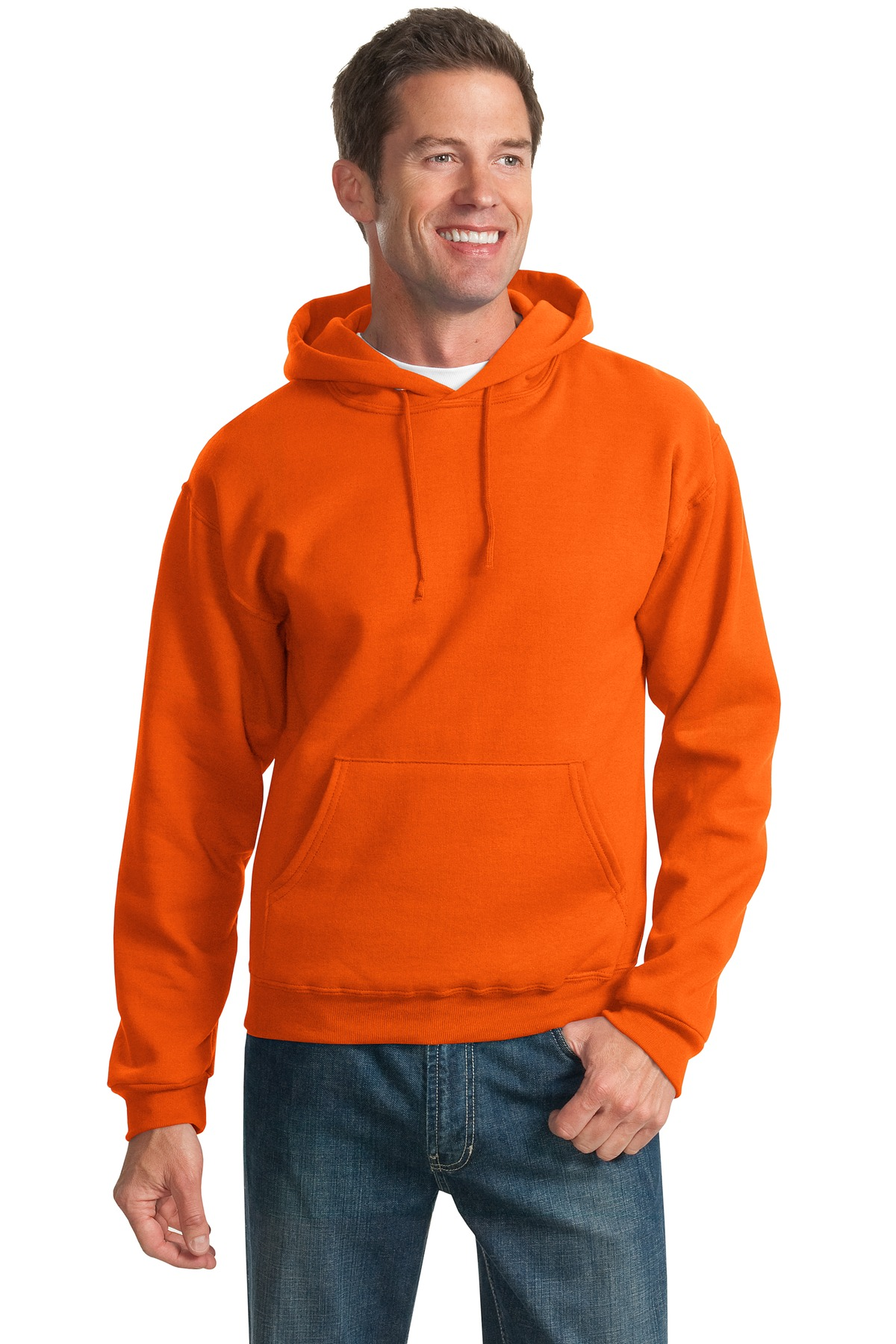 JERZEES ®  - NuBlend ®  Pullover Hooded Sweatshirt.  996M - Burnt Orange