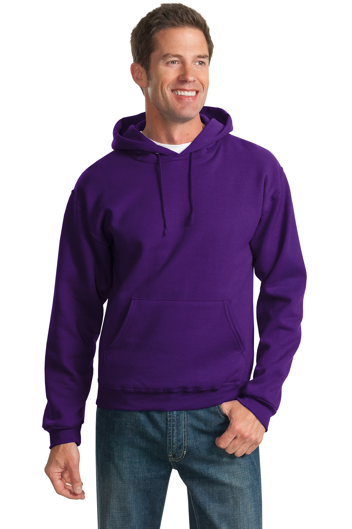 JERZEES ®  - NuBlend ®  Pullover Hooded Sweatshirt.  996M - Deep Purple