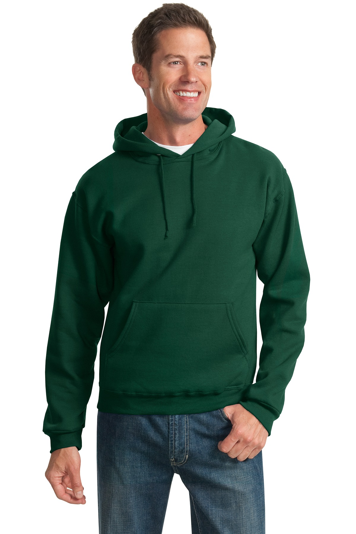 JERZEES ®  - NuBlend ®  Pullover Hooded Sweatshirt.  996M - Forest Green
