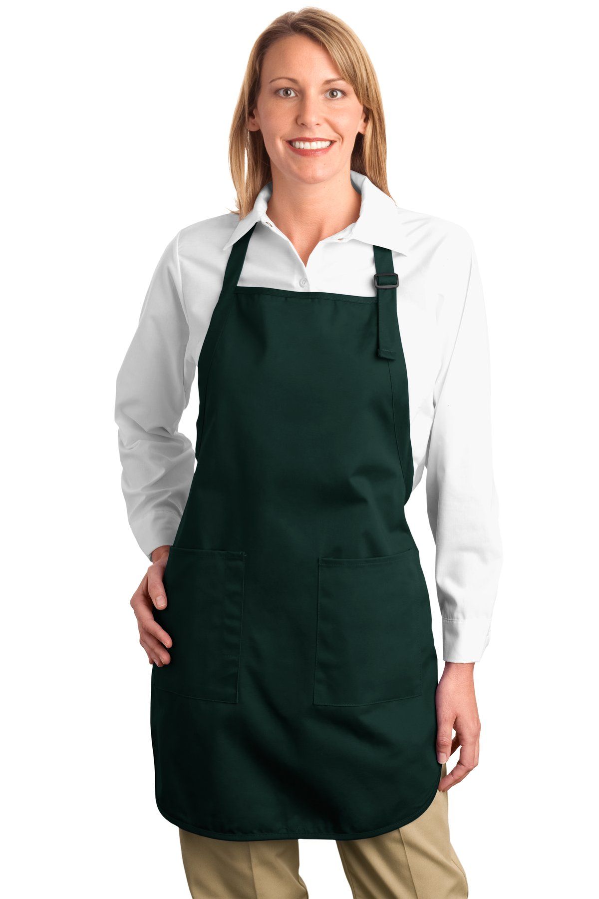Port Authority ®  Full-Length Apron with Pockets.  A500 - Hunter
