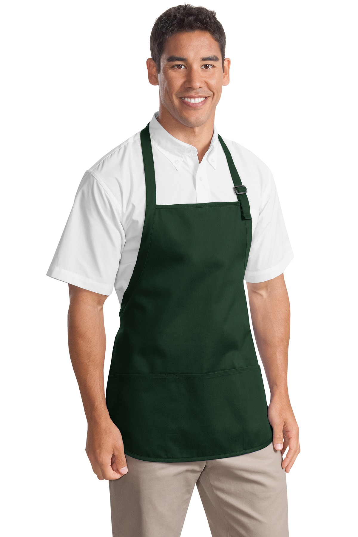 Port Authority ®  Medium-Length Apron with Pouch Pockets.  A510 - Hunter