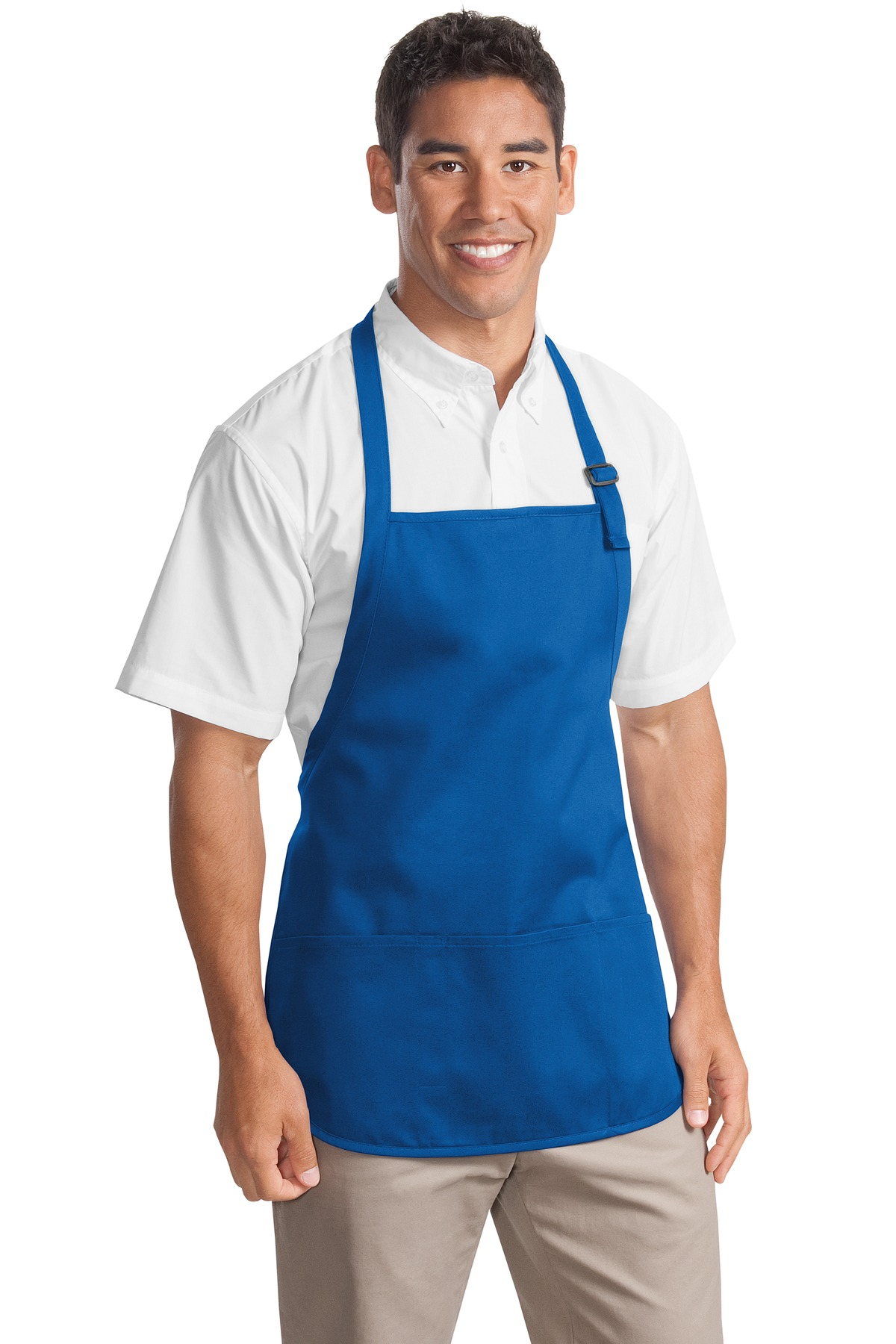 Port Authority ®  Medium-Length Apron with Pouch Pockets.  A510 - Royal